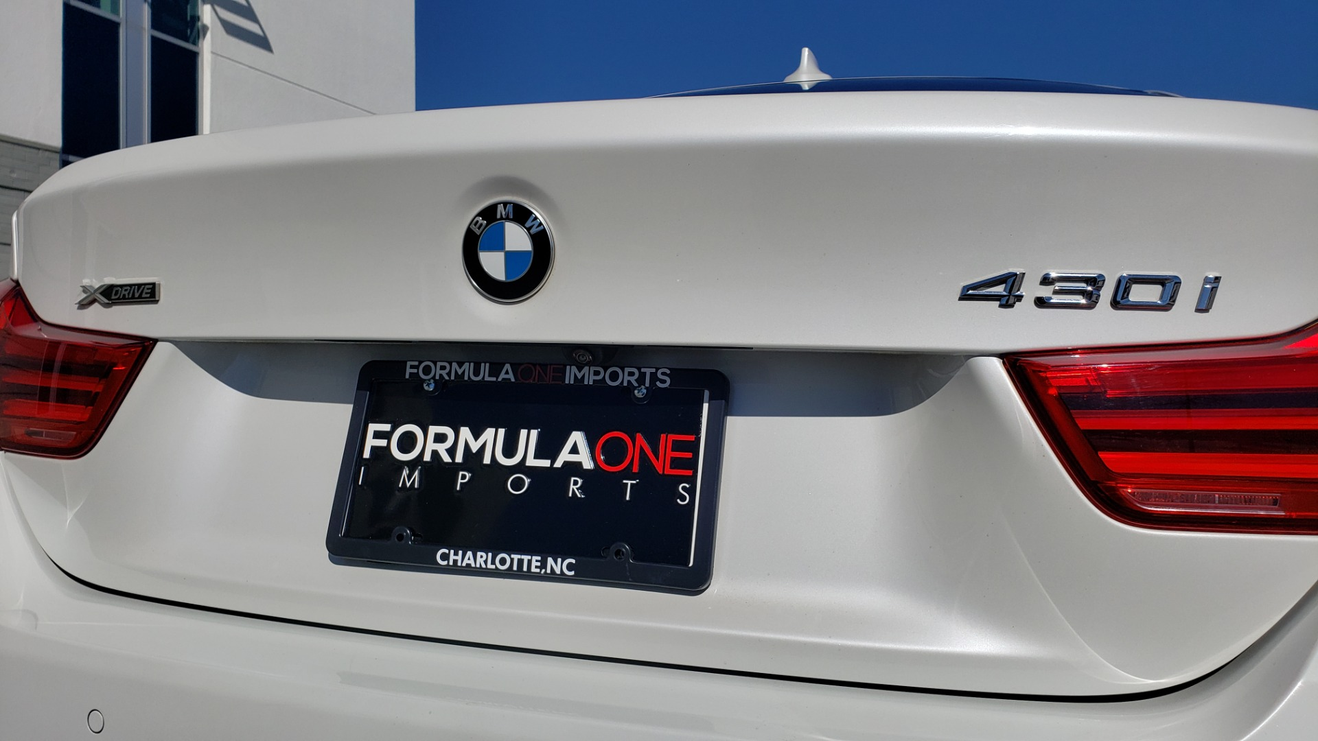 Used 2018 BMW 4 SERIES 430IXDRIVE / PREMIUM / NAV / SUNROOF / ESSENTIALS PKG for sale $28,995 at Formula Imports in Charlotte NC 28227 24