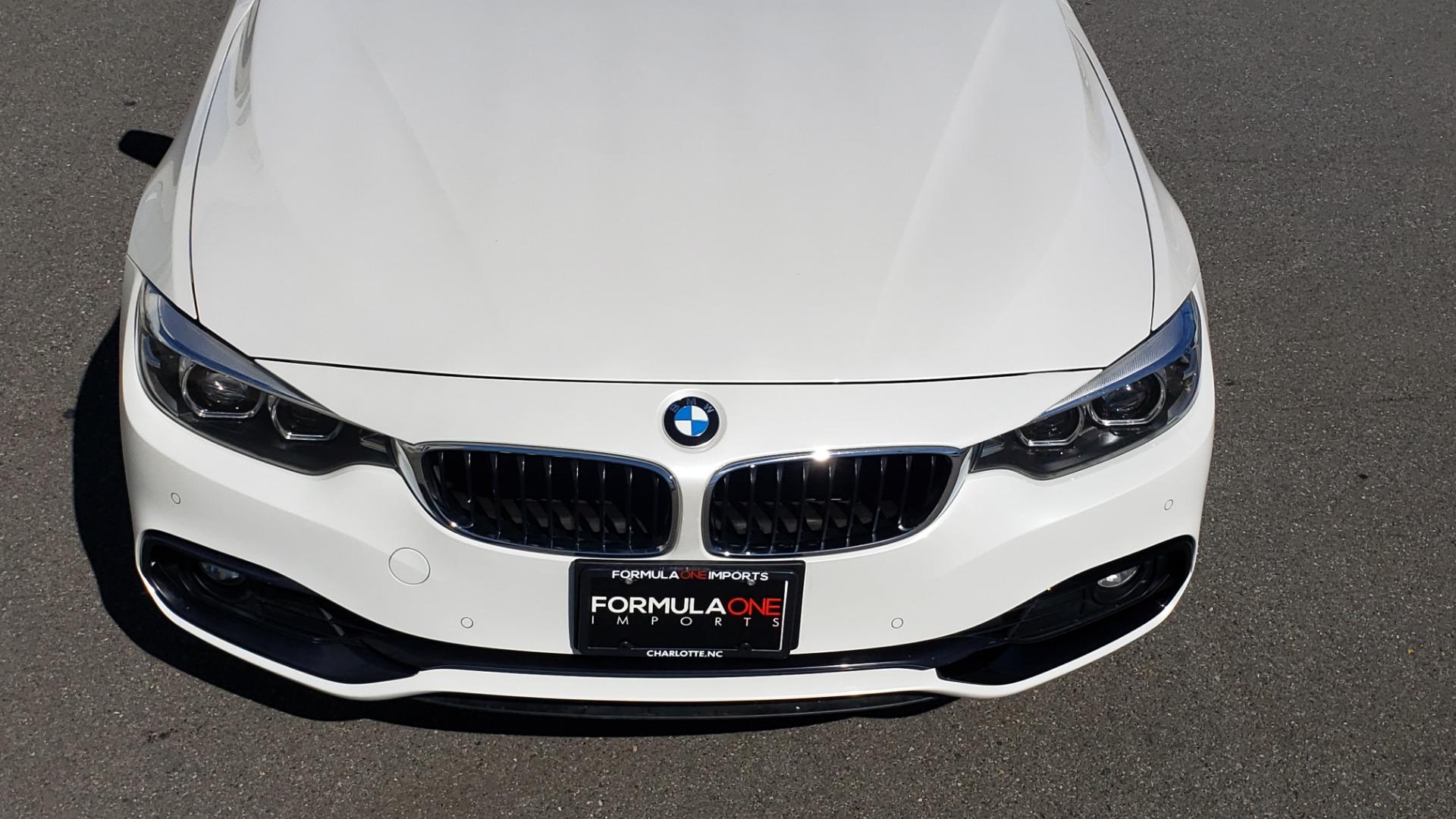 Used 2018 BMW 4 SERIES 430IXDRIVE / PREMIUM / NAV / SUNROOF / ESSENTIALS PKG for sale $28,995 at Formula Imports in Charlotte NC 28227 27