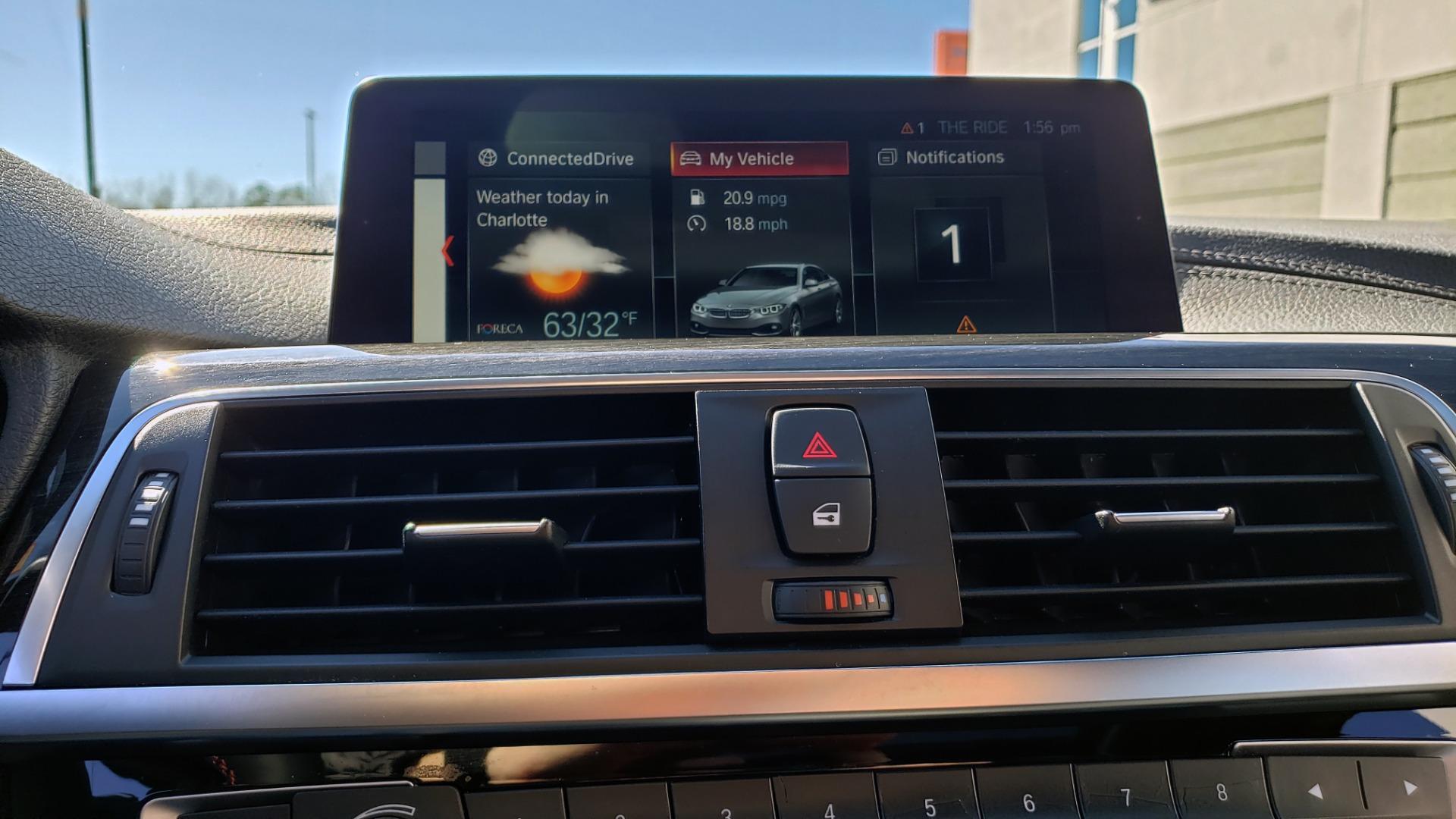 Used 2018 BMW 4 SERIES 430IXDRIVE / PREMIUM / NAV / SUNROOF / ESSENTIALS PKG for sale $28,995 at Formula Imports in Charlotte NC 28227 47