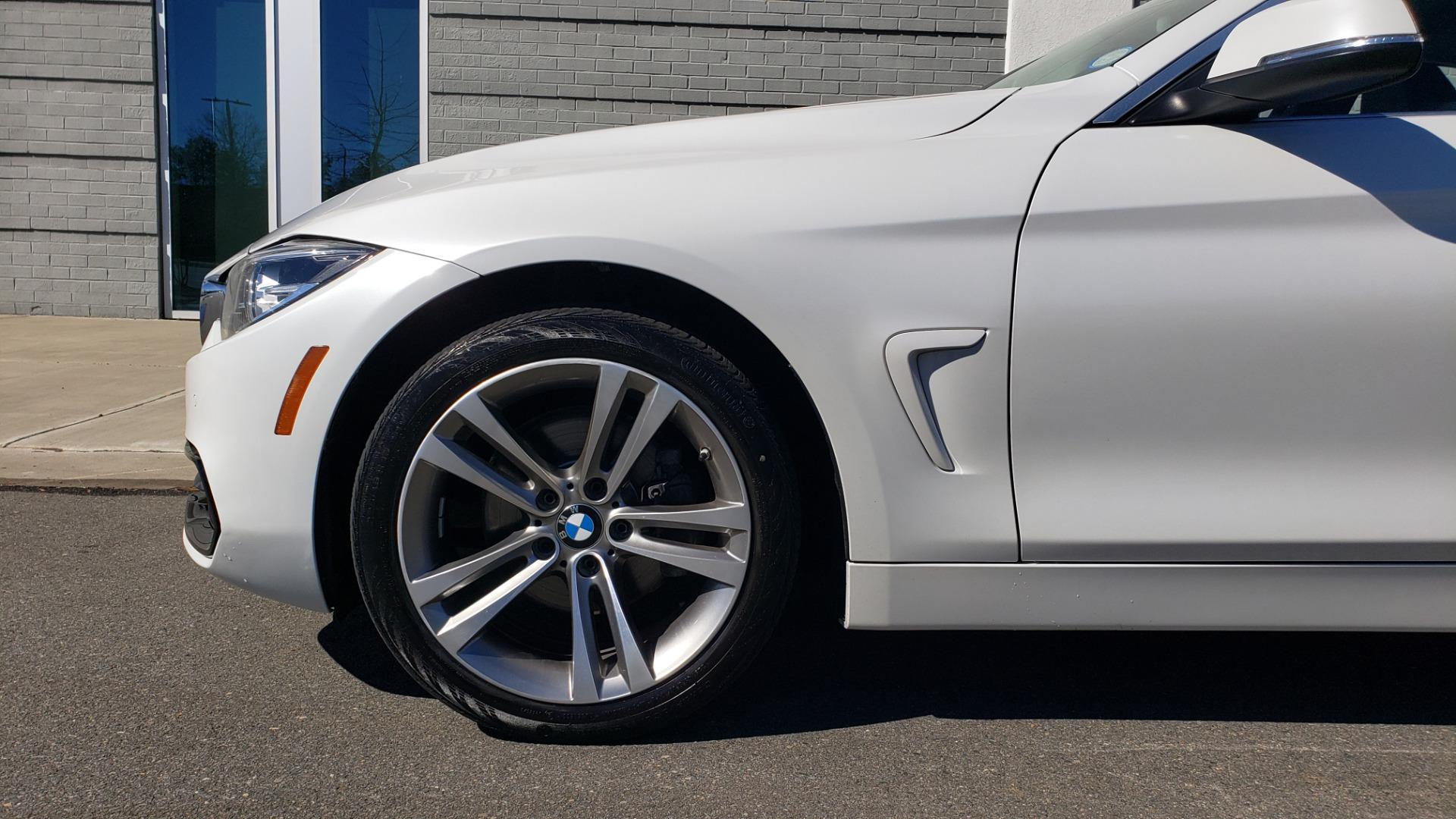 Used 2018 BMW 4 SERIES 430IXDRIVE / PREMIUM / NAV / SUNROOF / ESSENTIALS PKG for sale $27,795 at Formula Imports in Charlotte NC 28227 82