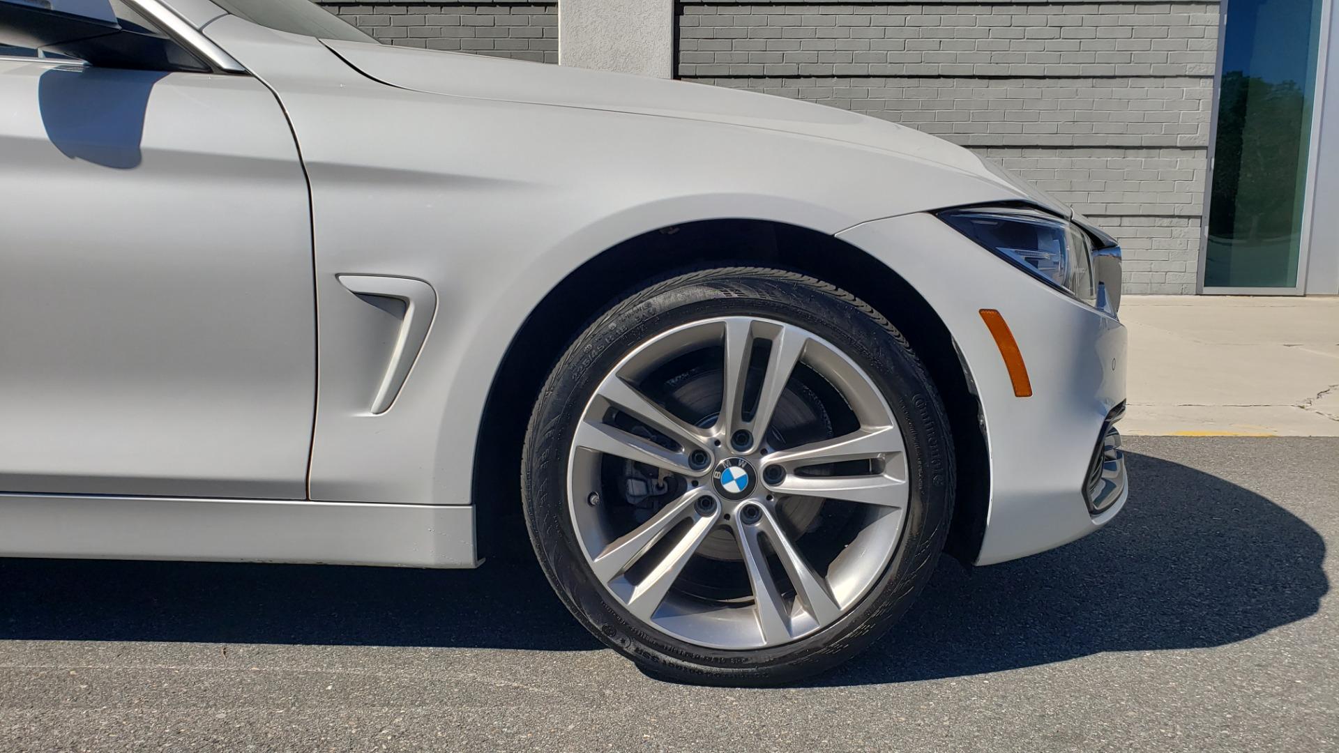 Used 2018 BMW 4 SERIES 430IXDRIVE / PREMIUM / NAV / SUNROOF / ESSENTIALS PKG for sale $27,795 at Formula Imports in Charlotte NC 28227 85
