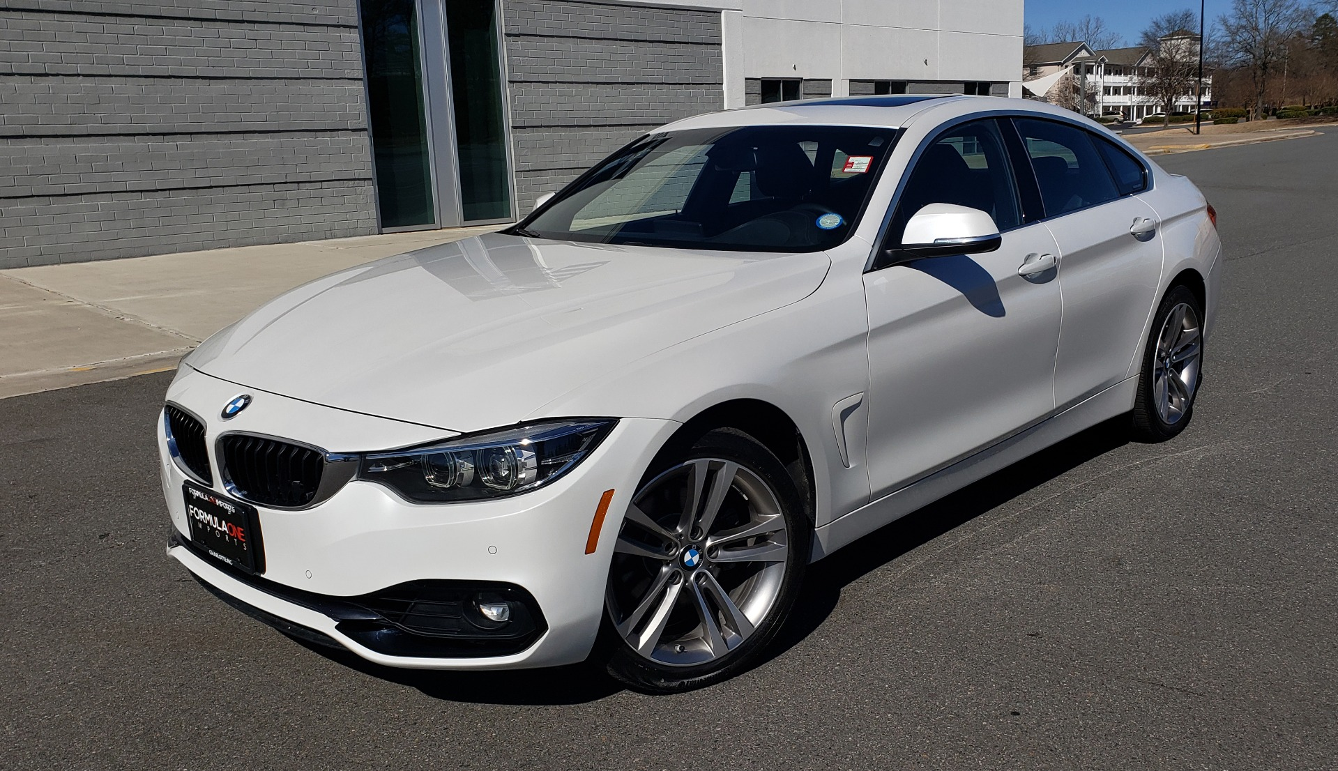 Used 2018 BMW 4 SERIES 430IXDRIVE / PREMIUM / NAV / SUNROOF / ESSENTIALS PKG for sale $28,995 at Formula Imports in Charlotte NC 28227 1