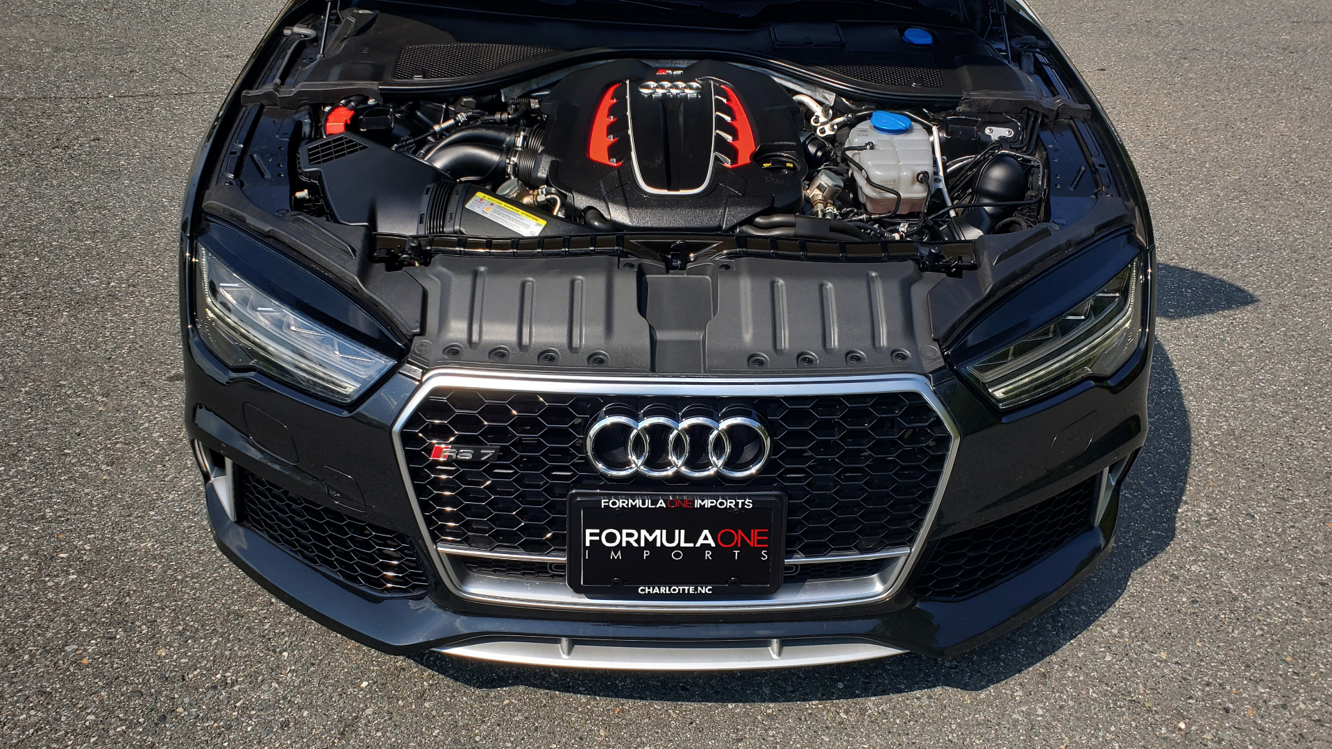 Used 2016 Audi RS 7 PRESTIGE / NAV / SUNROOF / BOSE / CAMERA / HTD STS for sale Sold at Formula Imports in Charlotte NC 28227 18