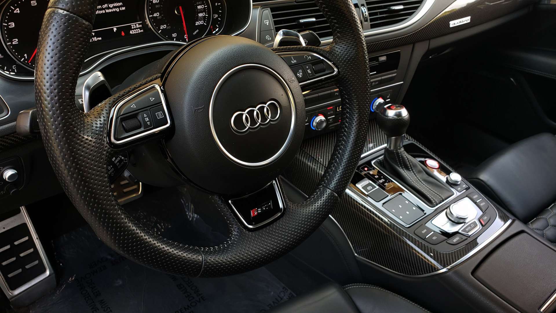 Used 2016 Audi RS 7 PRESTIGE / NAV / SUNROOF / BOSE / CAMERA / HTD STS for sale Sold at Formula Imports in Charlotte NC 28227 95