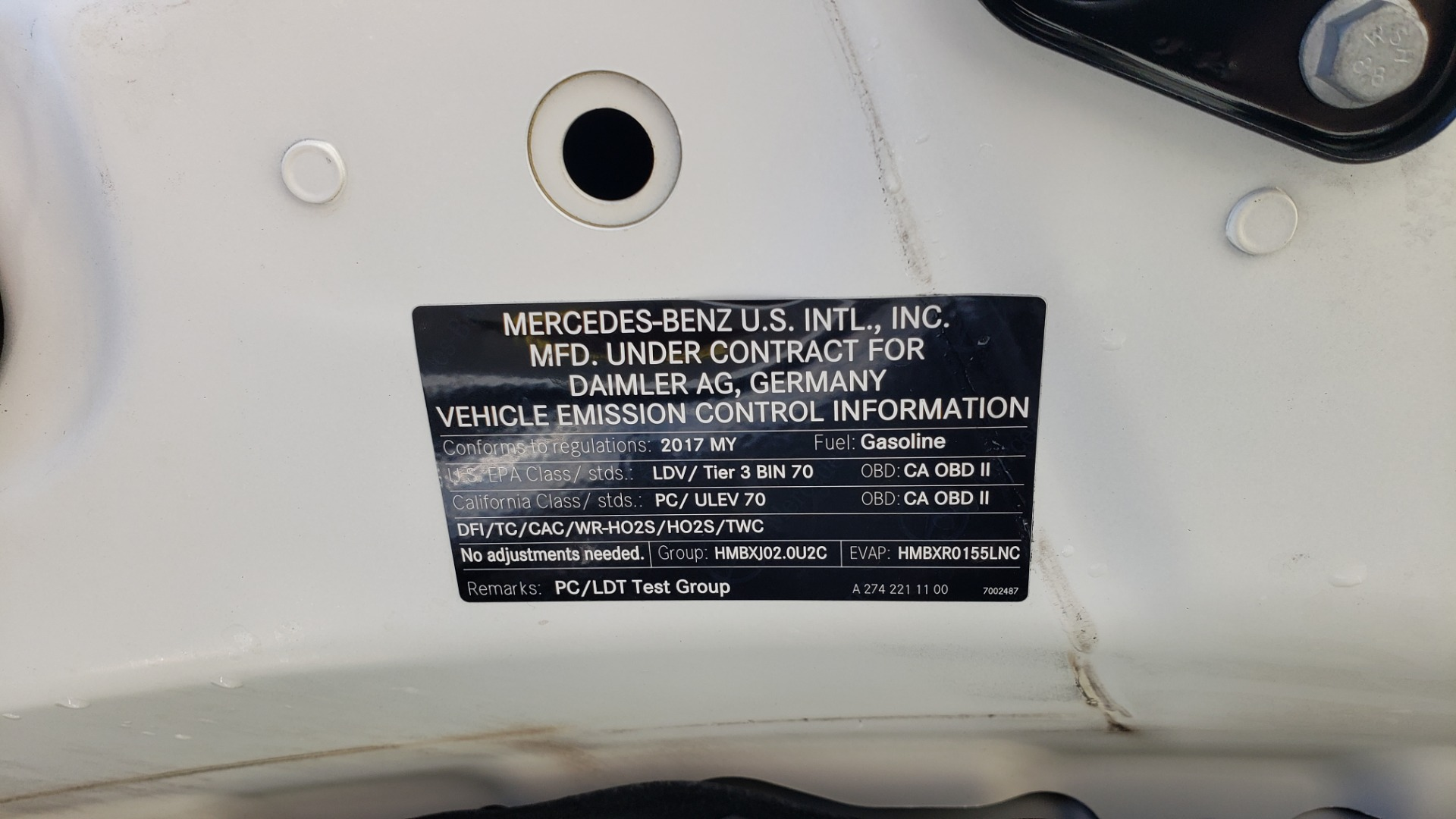 Used 2017 Mercedes-Benz C-CLASS C300 / 2.0L / 7-SPD AUTO / BSA / PANO-ROOF / REARVIEW for sale Sold at Formula Imports in Charlotte NC 28227 11