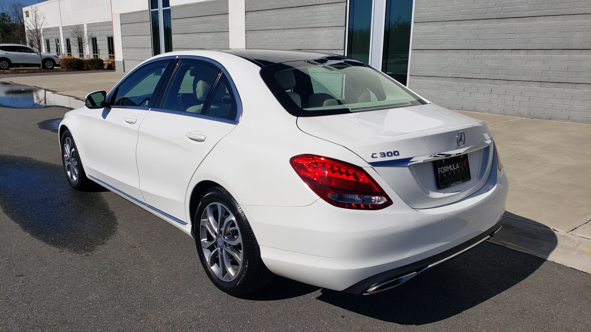 Used 2017 Mercedes-Benz C-CLASS C300 / 2.0L / 7-SPD AUTO / BSA / PANO-ROOF / REARVIEW for sale Sold at Formula Imports in Charlotte NC 28227 3