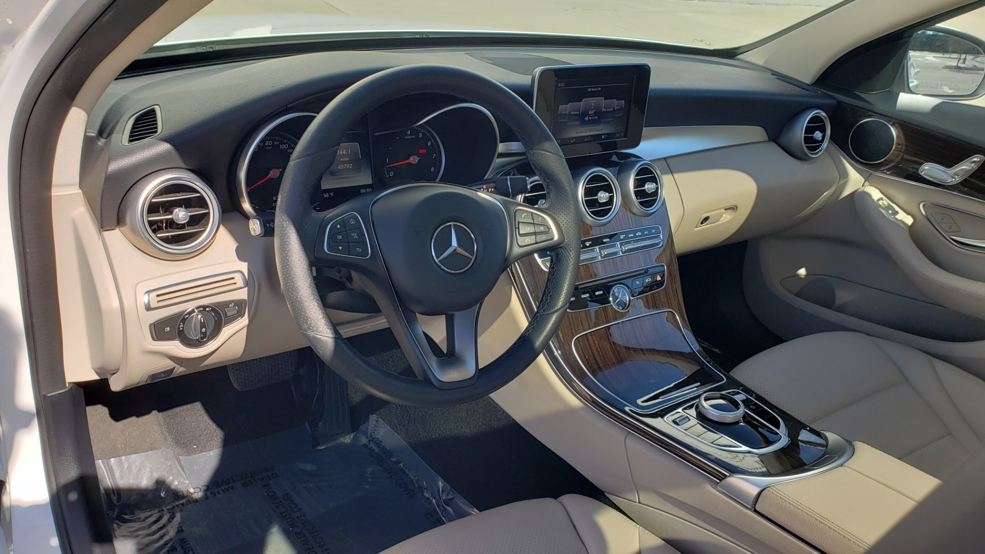 Used 2017 Mercedes-Benz C-CLASS C300 / 2.0L / 7-SPD AUTO / BSA / PANO-ROOF / REARVIEW for sale Sold at Formula Imports in Charlotte NC 28227 31