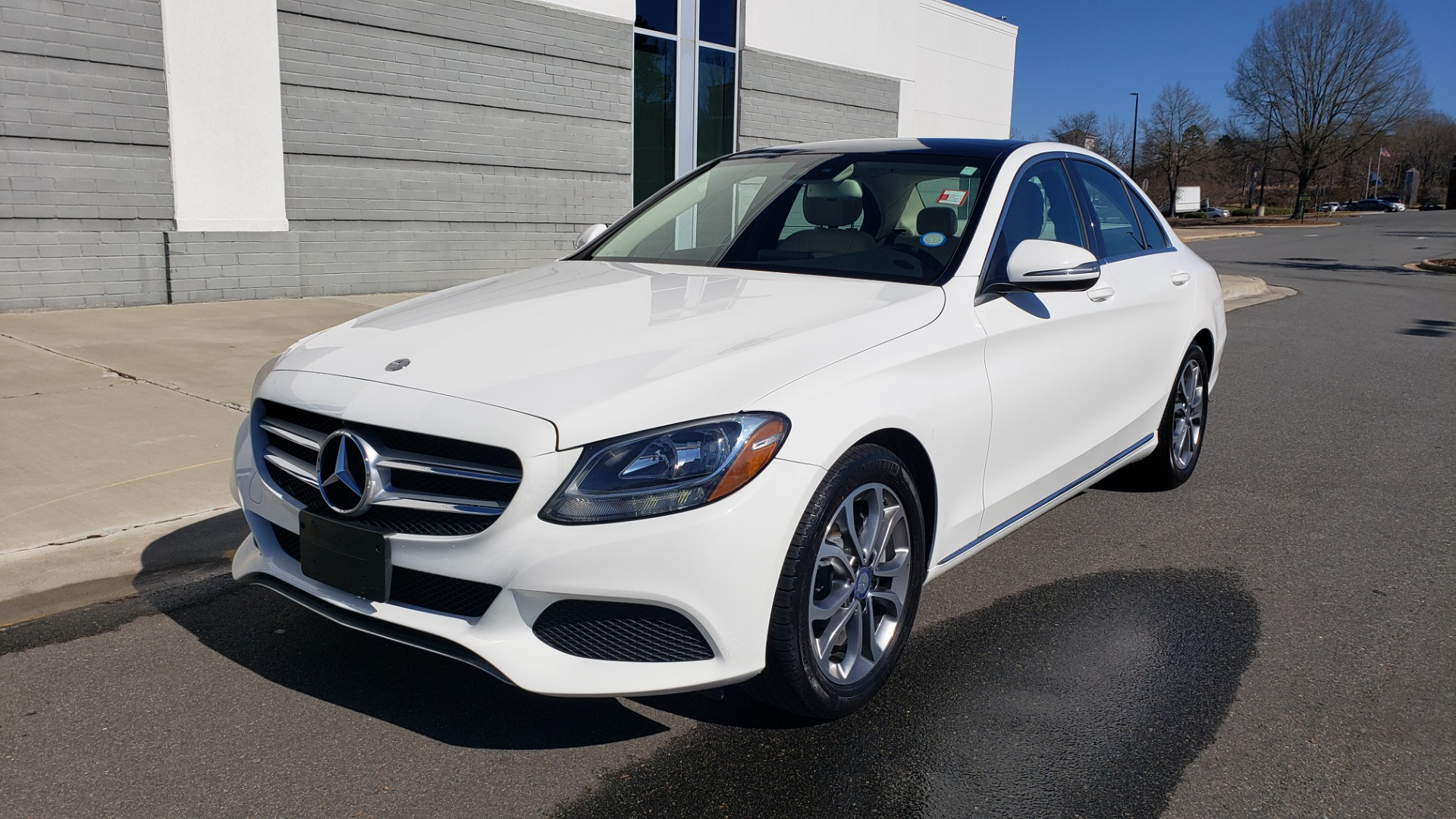 Used 2017 Mercedes-Benz C-CLASS C300 / 2.0L / 7-SPD AUTO / BSA / PANO-ROOF / REARVIEW for sale Sold at Formula Imports in Charlotte NC 28227 1
