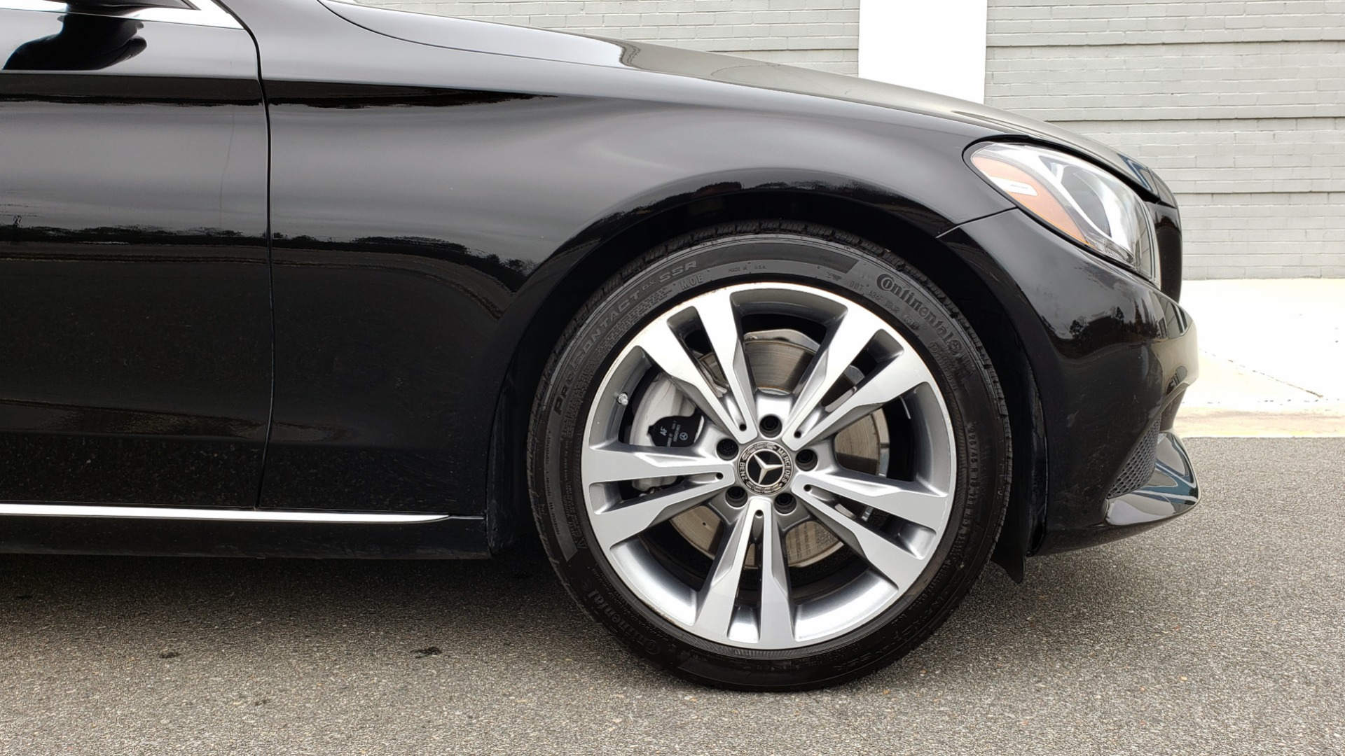 Used 2018 Mercedes-Benz C-CLASS C 300 PREMIUM / 2.0L TURBO / PANO-ROOF / KEYLESS-GO / REARVIEW for sale Sold at Formula Imports in Charlotte NC 28227 85