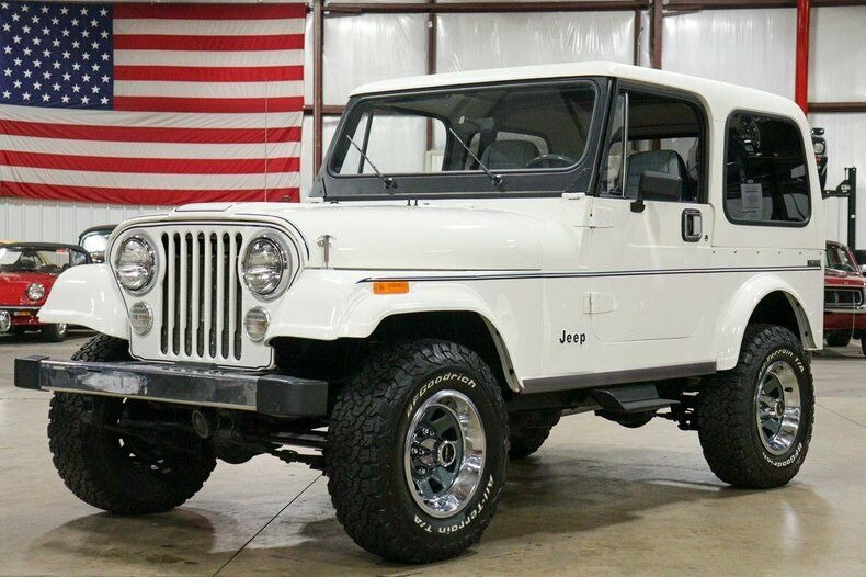 Used 1982 Jeep CJ7 LIMITED 4WD / 4.2L I6 / 5-SPEED MANUAL / NEW 30-INCH BFG TIRES for sale Sold at Formula Imports in Charlotte NC 28227 52
