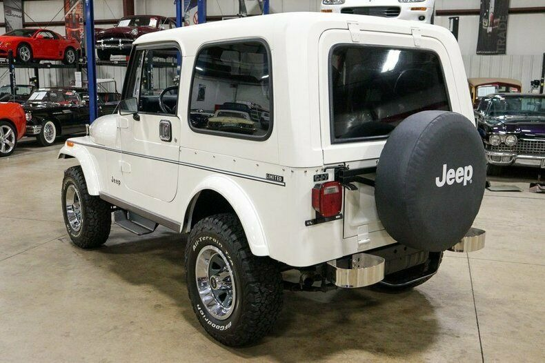 Used 1982 Jeep CJ7 LIMITED 4WD / 4.2L I6 / 5-SPEED MANUAL / NEW 30-INCH BFG TIRES for sale Sold at Formula Imports in Charlotte NC 28227 54