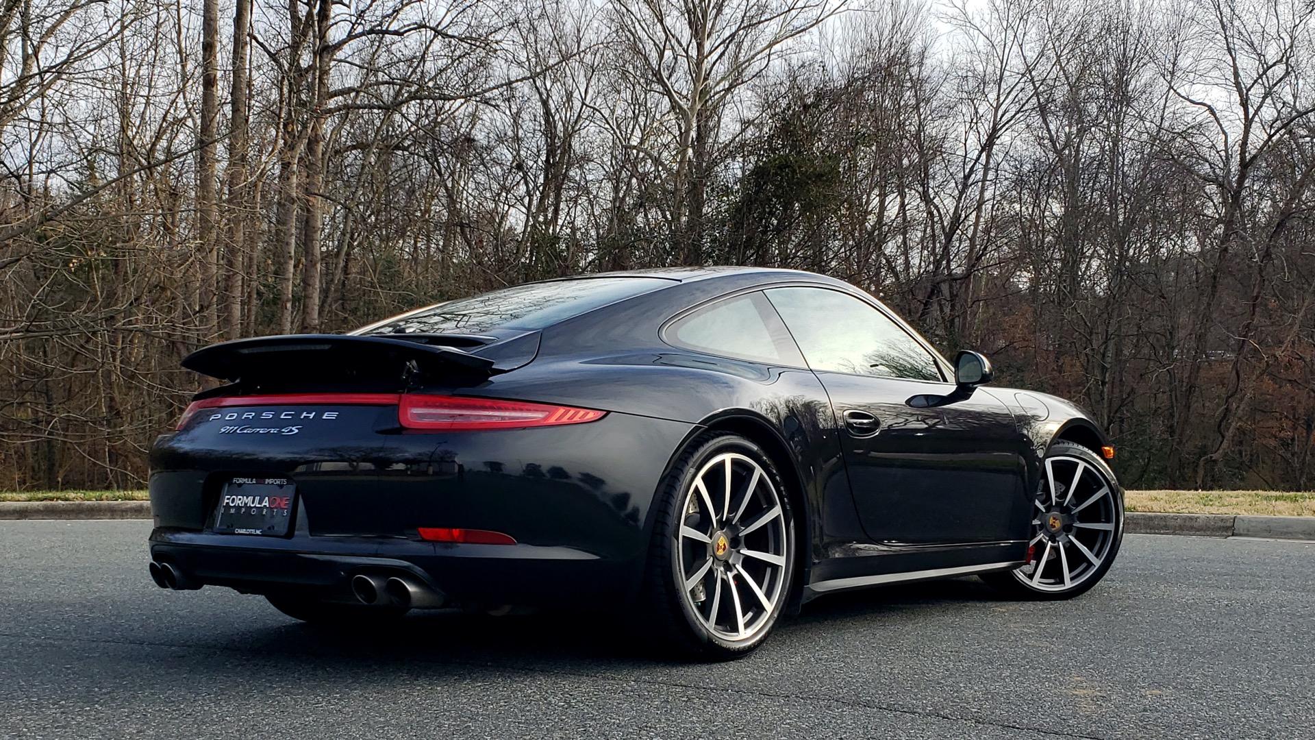 Used 2014 Porsche 911 CARRERA 4S / PREM PKG PLUS / NAV / SUNROO / BOSE / CHRONO for sale Sold at Formula Imports in Charlotte NC 28227 10