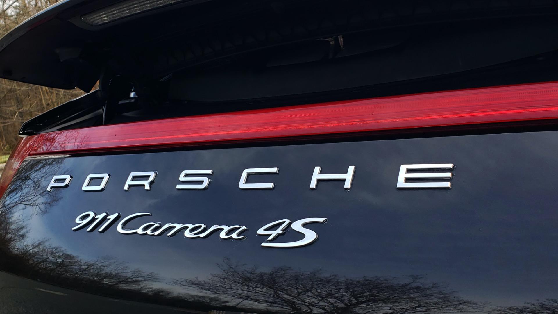 Used 2014 Porsche 911 CARRERA 4S / PREM PKG PLUS / NAV / SUNROO / BOSE / CHRONO for sale Sold at Formula Imports in Charlotte NC 28227 19