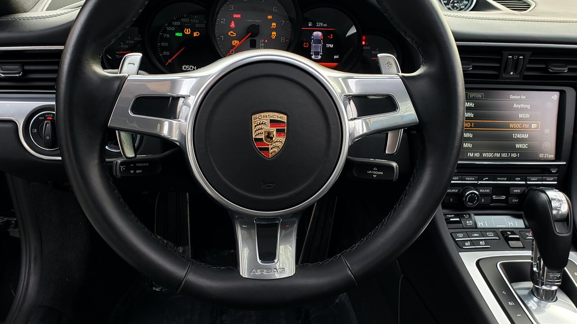 Used 2014 Porsche 911 CARRERA 4S / PREM PKG PLUS / NAV / SUNROO / BOSE / CHRONO for sale Sold at Formula Imports in Charlotte NC 28227 40