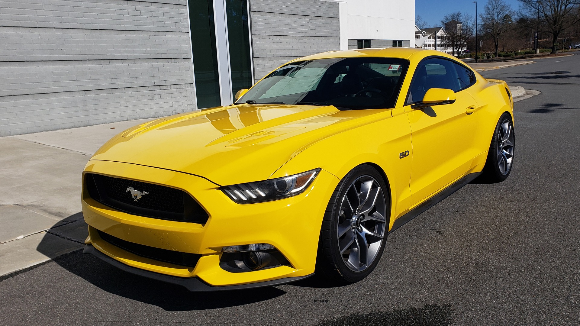 Used 2015 Ford MUSTANG GT 5.0L COUPE PREMIUM / 6-SPD MAN / SHAKER AUDIO / NAV for sale Sold at Formula Imports in Charlotte NC 28227 2
