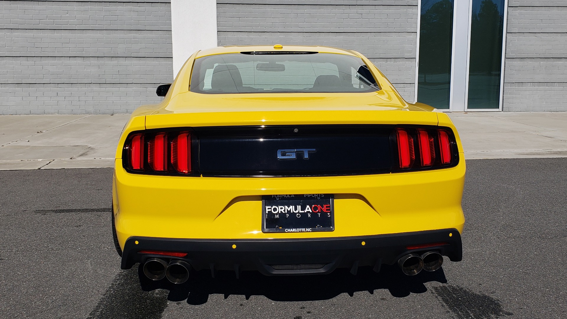Used 2015 Ford MUSTANG GT 5.0L COUPE PREMIUM / 6-SPD MAN / SHAKER AUDIO / NAV for sale Sold at Formula Imports in Charlotte NC 28227 35