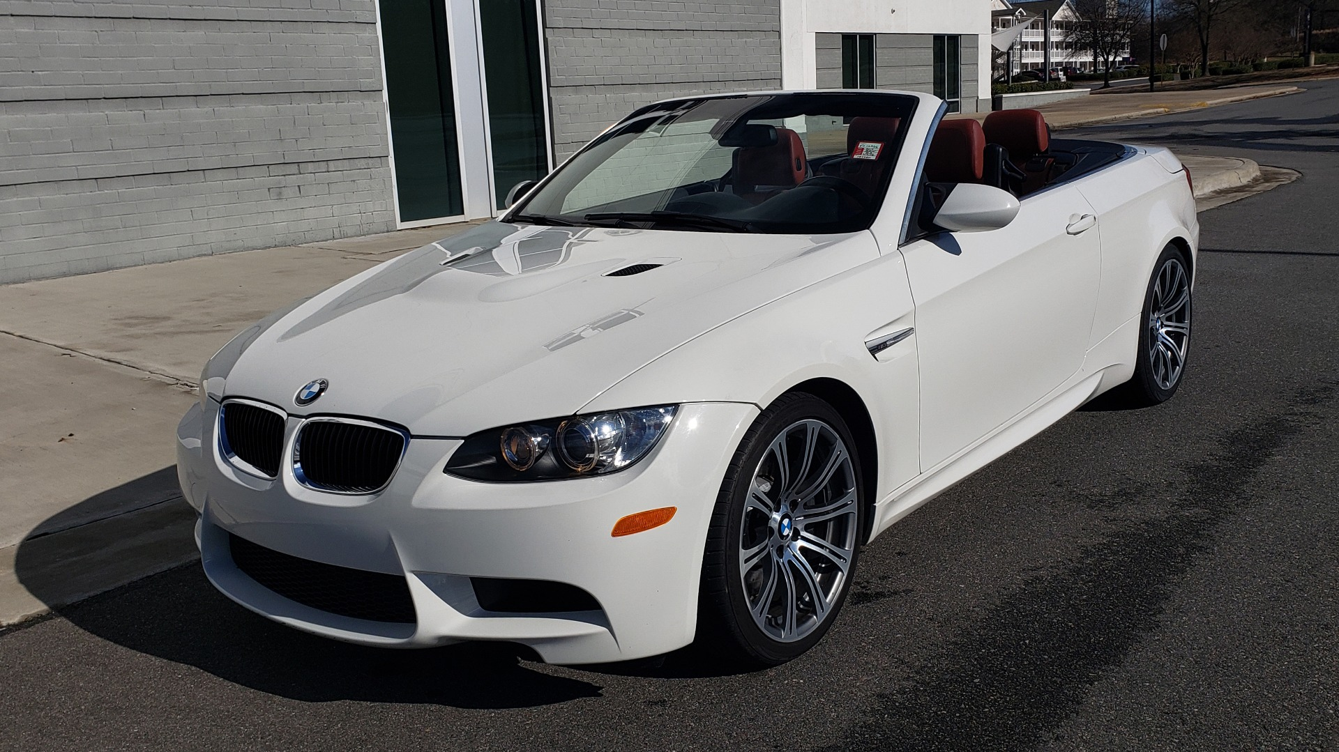 Used 2012 BMW M3 CONVERTIBLE / PREM PKG / NAV / M-DOUBLE CLUTCH AUTOMATIC for sale Sold at Formula Imports in Charlotte NC 28227 14