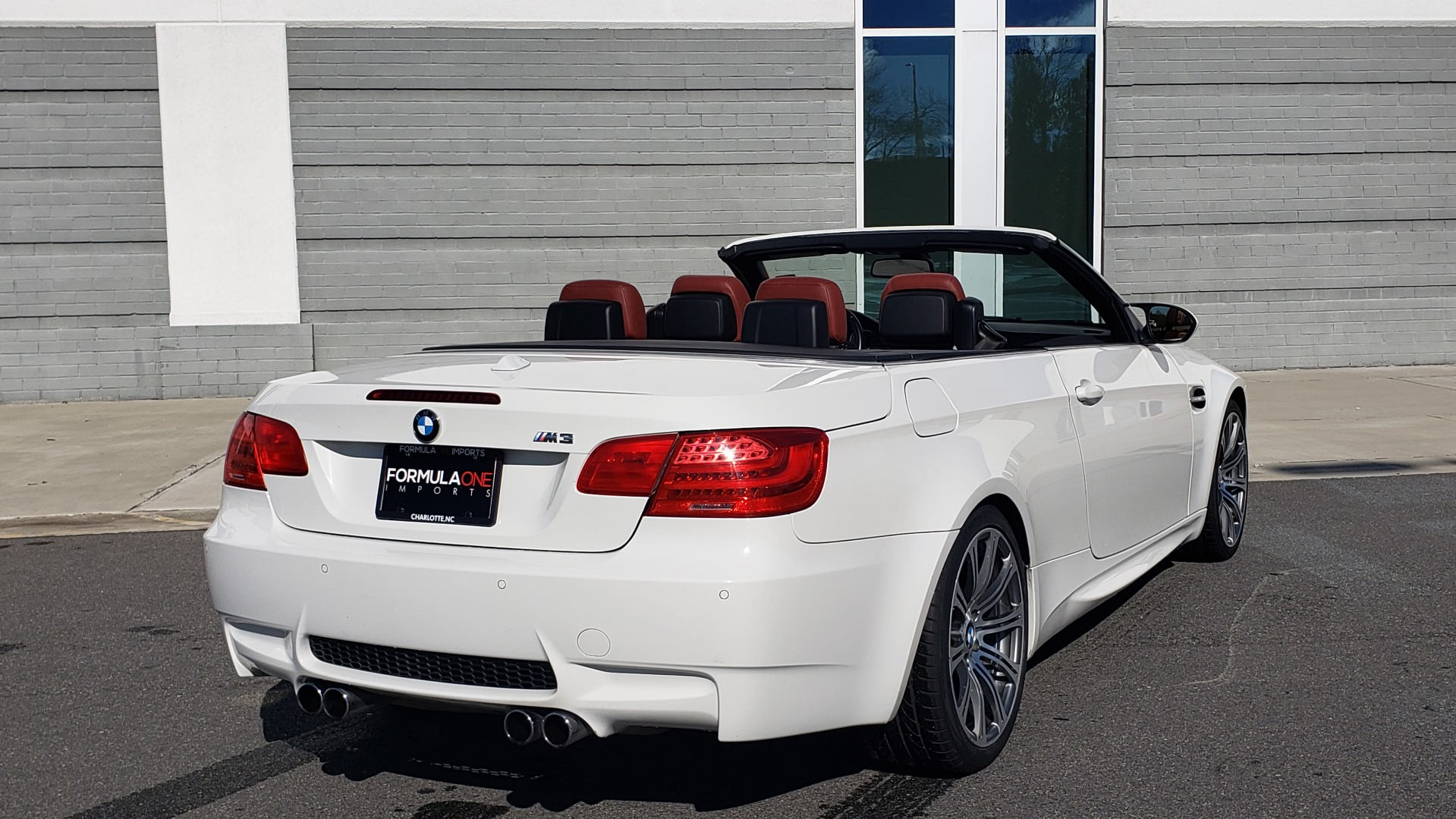Used 2012 BMW M3 CONVERTIBLE / PREM PKG / NAV / M-DOUBLE CLUTCH AUTOMATIC for sale Sold at Formula Imports in Charlotte NC 28227 3