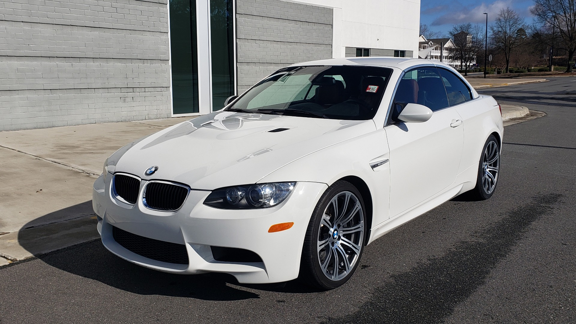 Used 2012 BMW M3 CONVERTIBLE / PREM PKG / NAV / M-DOUBLE CLUTCH AUTOMATIC for sale Sold at Formula Imports in Charlotte NC 28227 4