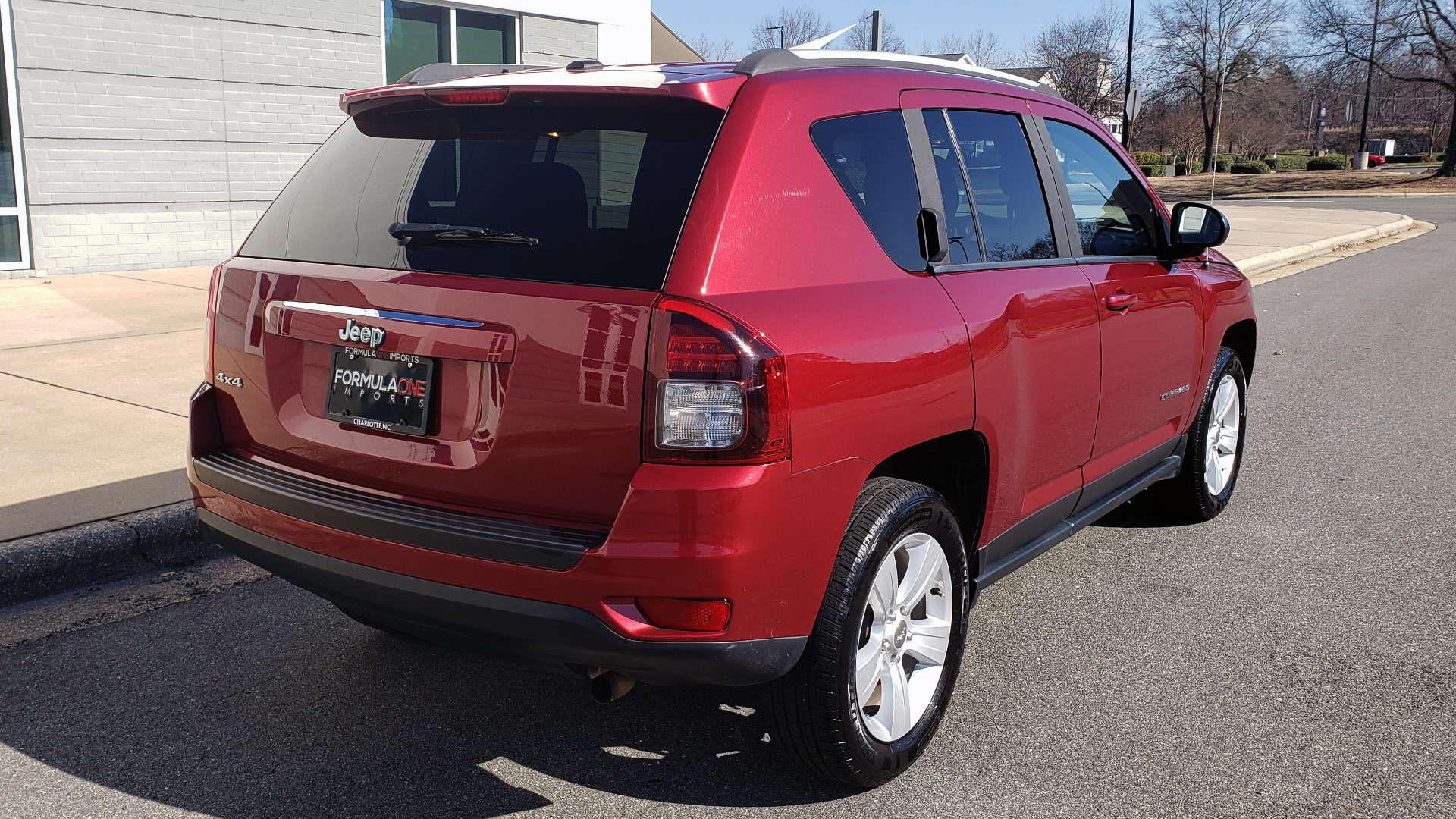 Used 2016 Jeep COMPASS SPORT 4X4 / 2.4L I4 / 6-SPD AUTO / 26MPG / CLEAN for sale Sold at Formula Imports in Charlotte NC 28227 4