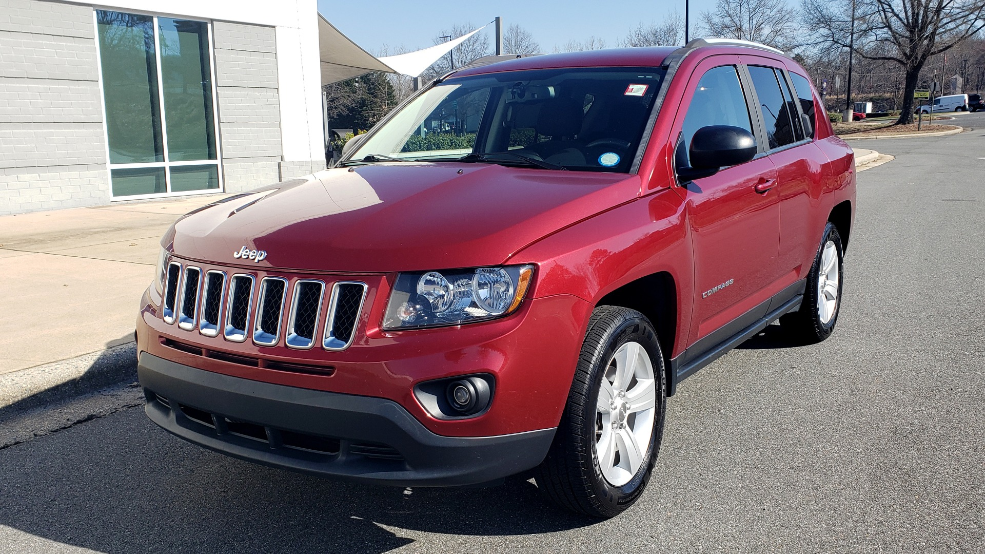 Used 2016 Jeep COMPASS SPORT 4X4 / 2.4L I4 / 6-SPD AUTO / 26MPG / CLEAN for sale Sold at Formula Imports in Charlotte NC 28227 5