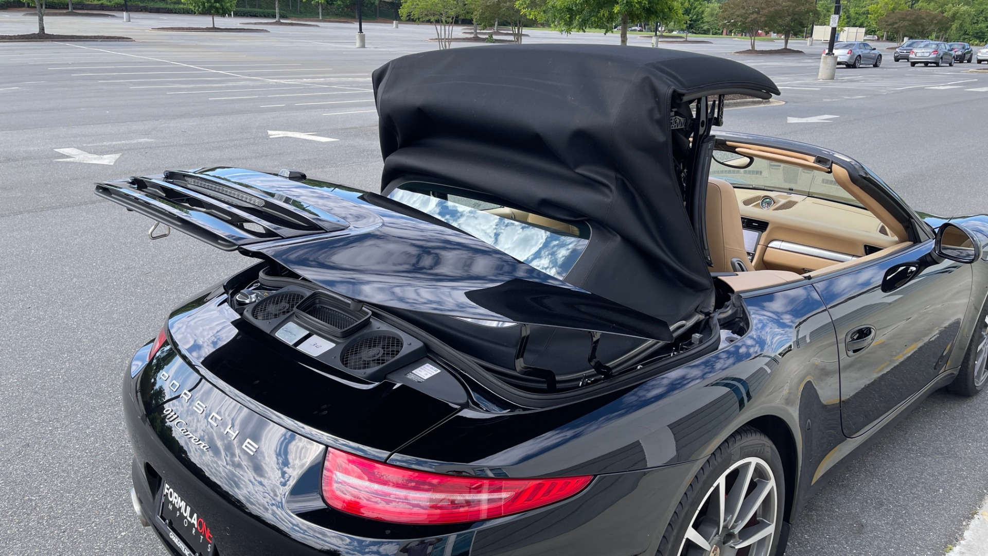 Used 2013 Porsche 911 CARRERA CABRIOLET / PDK / NAV / BOSE / HTD STS / PDLS for sale Sold at Formula Imports in Charlotte NC 28227 11