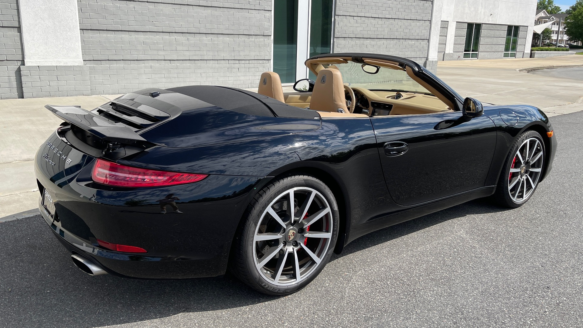 Used 2013 Porsche 911 CARRERA CABRIOLET / PDK / NAV / BOSE / HTD STS / PDLS for sale Sold at Formula Imports in Charlotte NC 28227 4