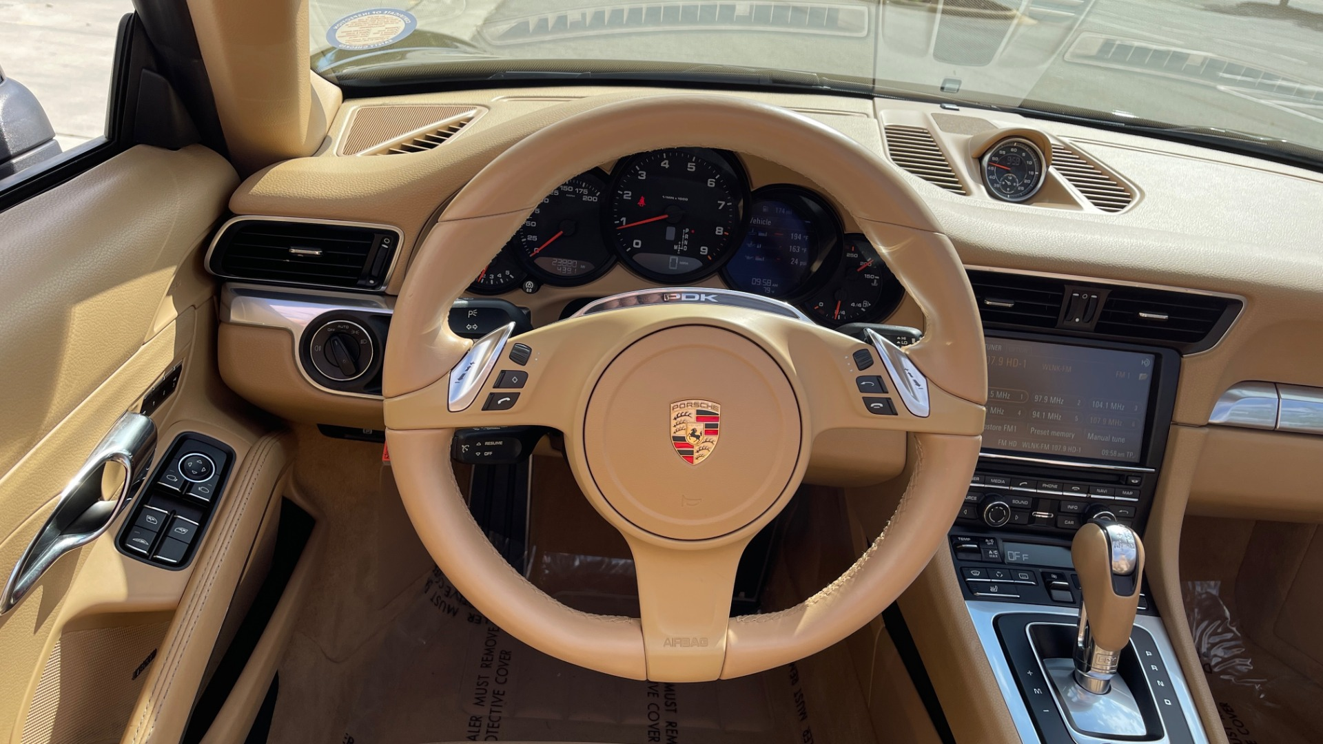 Used 2013 Porsche 911 CARRERA CABRIOLET / PDK / NAV / BOSE / HTD STS / PDLS for sale Sold at Formula Imports in Charlotte NC 28227 52