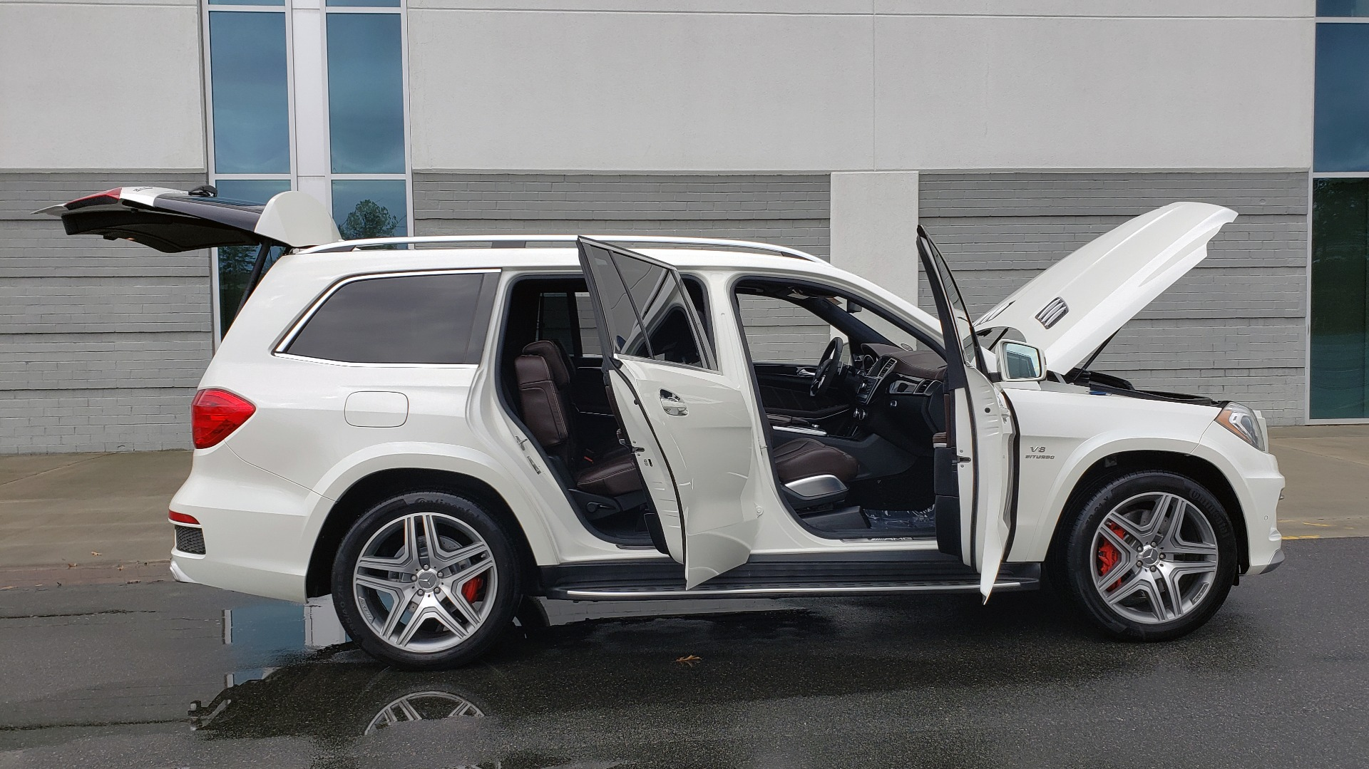 Used 2014 Mercedes-Benz GL-CLASS GL 63 AMG 4MATIC / NIGHT VIEW ASSIST PLUS / BANG & OLUFSEN SND for sale Sold at Formula Imports in Charlotte NC 28227 11