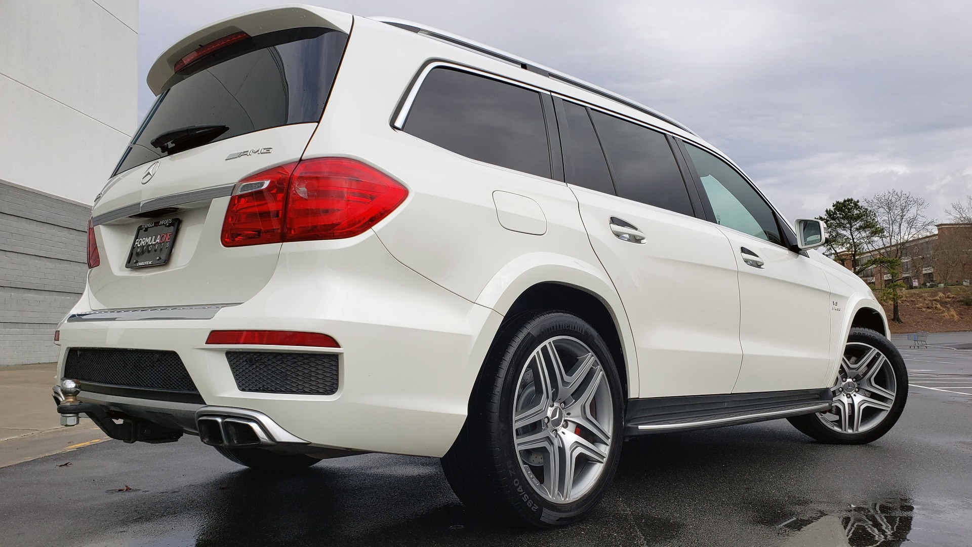Used 2014 Mercedes-Benz GL-CLASS GL 63 AMG 4MATIC / NIGHT VIEW ASSIST PLUS / BANG & OLUFSEN SND for sale Sold at Formula Imports in Charlotte NC 28227 2