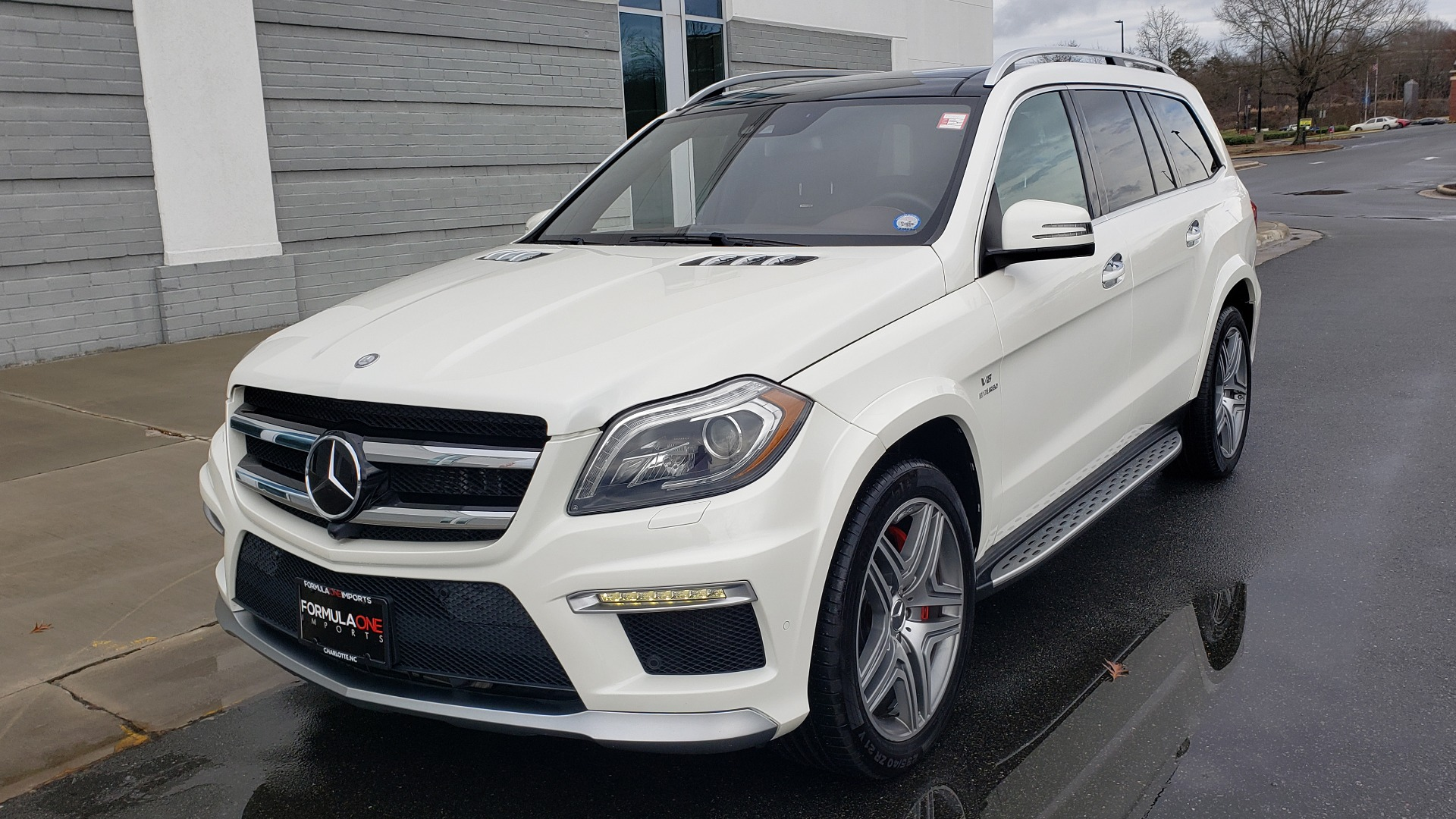 Used 2014 Mercedes-Benz GL-CLASS GL 63 AMG 4MATIC / NIGHT VIEW ASSIST PLUS / BANG & OLUFSEN SND for sale Sold at Formula Imports in Charlotte NC 28227 3