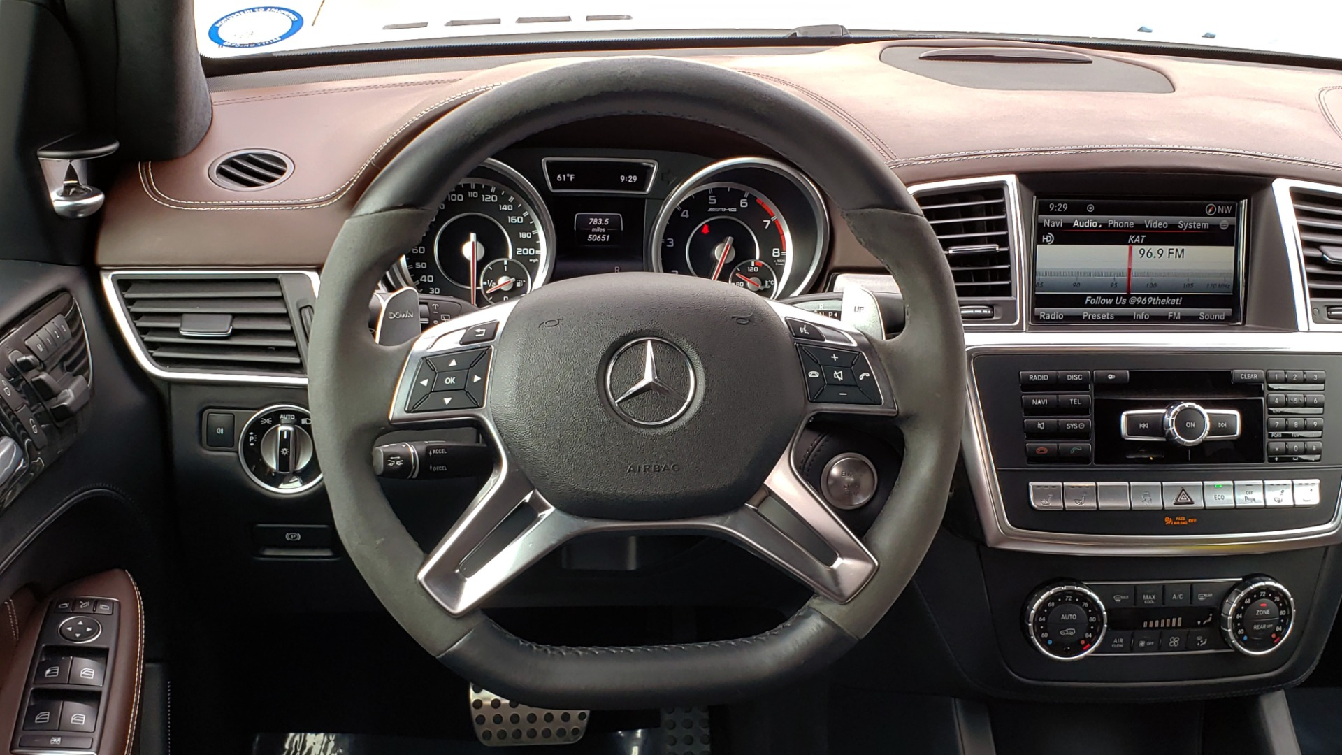 Used 2014 Mercedes-Benz GL-CLASS GL 63 AMG 4MATIC / NIGHT VIEW ASSIST PLUS / BANG & OLUFSEN SND for sale Sold at Formula Imports in Charlotte NC 28227 46