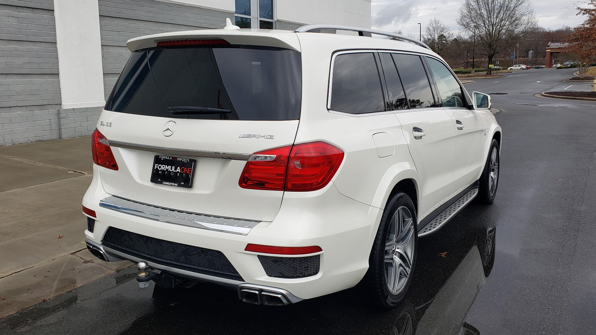 Used 2014 Mercedes-Benz GL-CLASS GL 63 AMG 4MATIC / NIGHT VIEW ASSIST PLUS / BANG & OLUFSEN SND for sale Sold at Formula Imports in Charlotte NC 28227 8