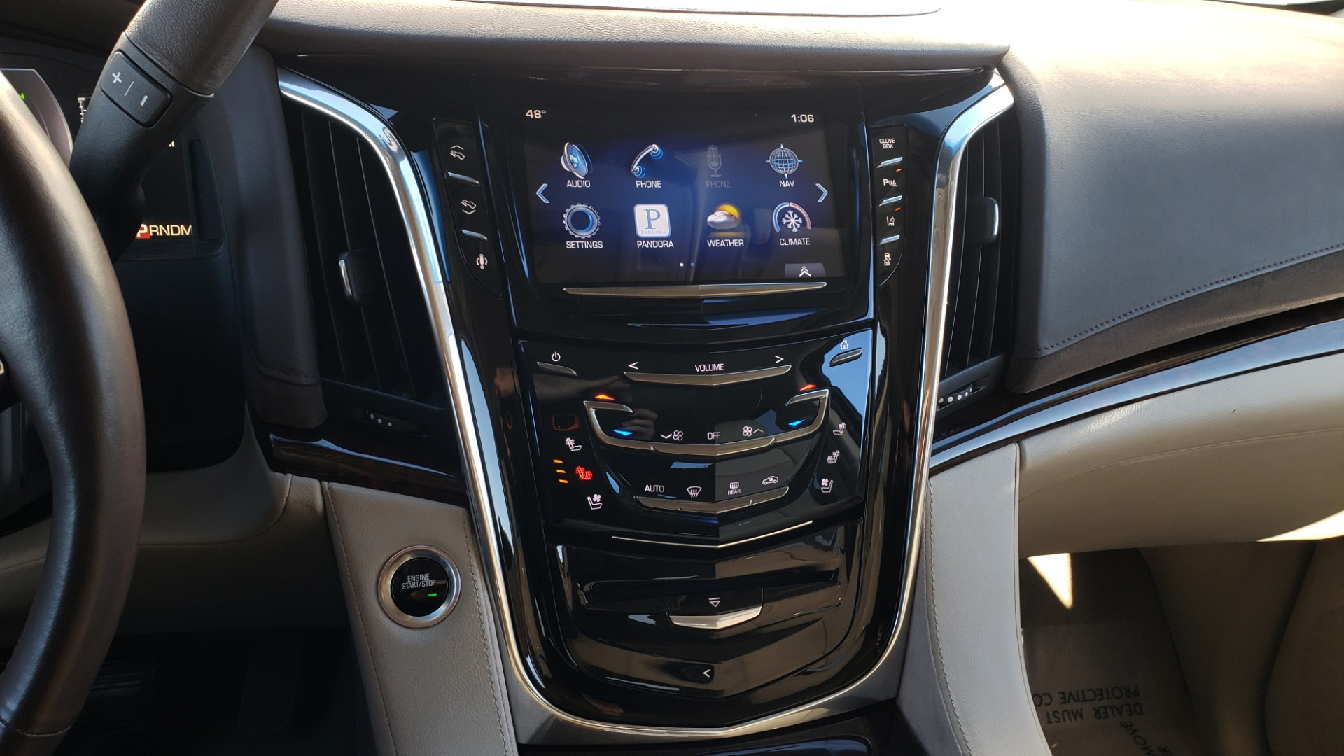 Used 2015 Cadillac ESCALADE PREMIUM 4WD / NAV / SUNROOF / REARVIEW / 3-ROW for sale Sold at Formula Imports in Charlotte NC 28227 47