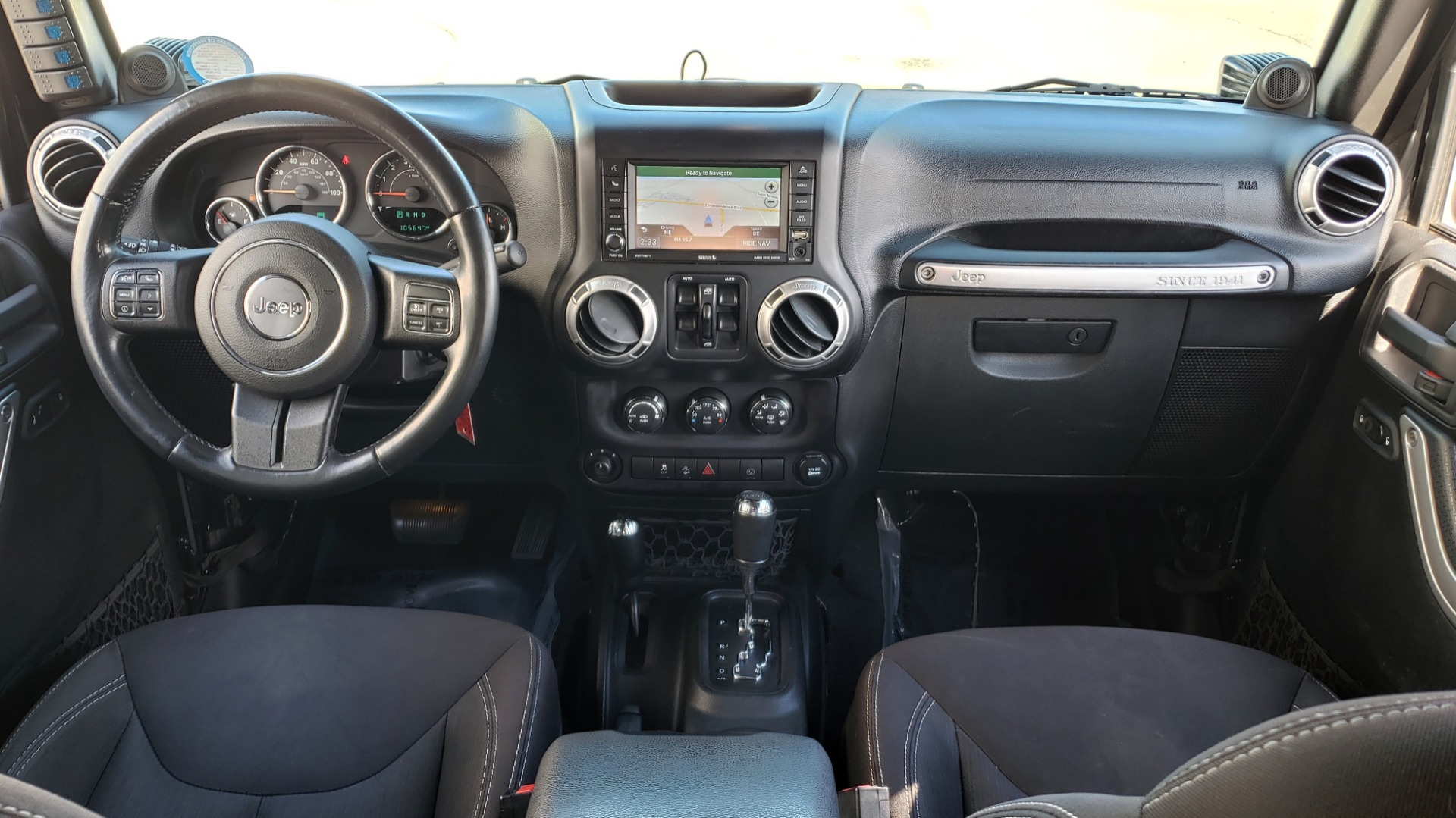 Used 2014 Jeep WRANGLER UNLIMITED SAHARA 4X4 / 3.6L V6 / 5-SPD AUTO / NAV / TOW PKG / SOFT-TOP for sale $24,795 at Formula Imports in Charlotte NC 28227 75