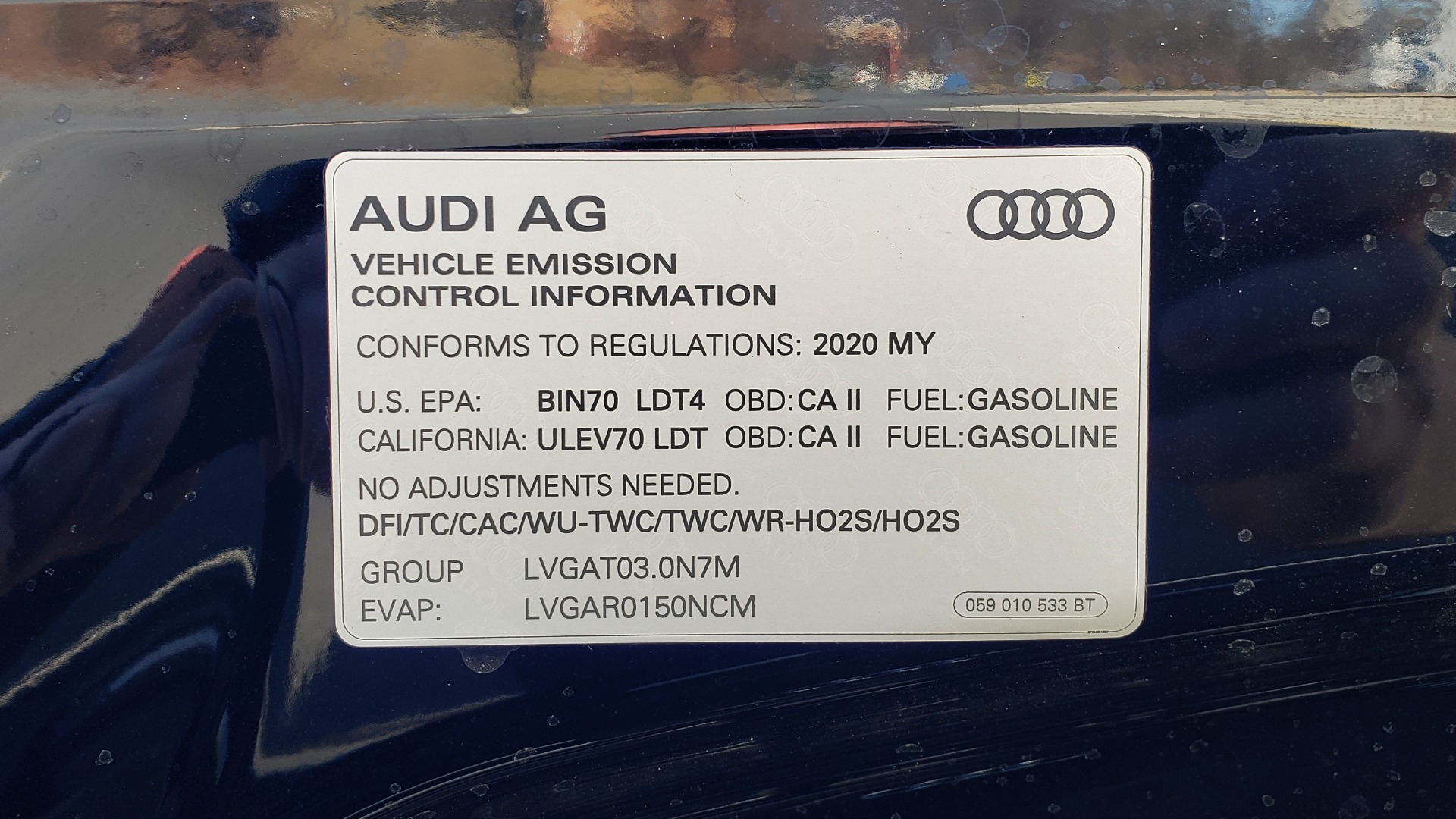 Used 2020 Audi Q7 PREMIUM PLUS / NAV / SUNROOF / 3-ROW / REARVIEW for sale Sold at Formula Imports in Charlotte NC 28227 13