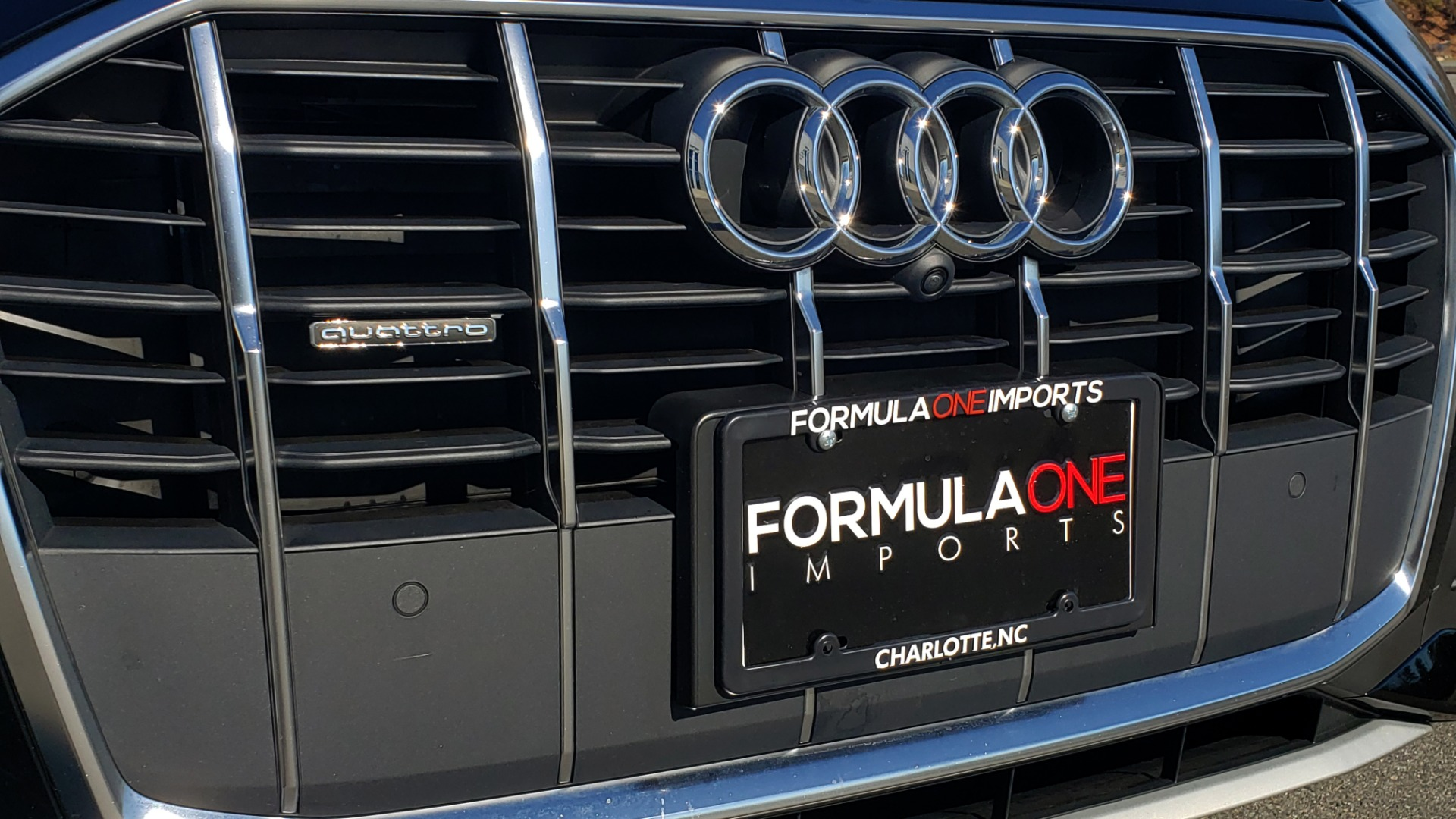 Used 2020 Audi Q7 PREMIUM PLUS / NAV / SUNROOF / 3-ROW / REARVIEW for sale Sold at Formula Imports in Charlotte NC 28227 28