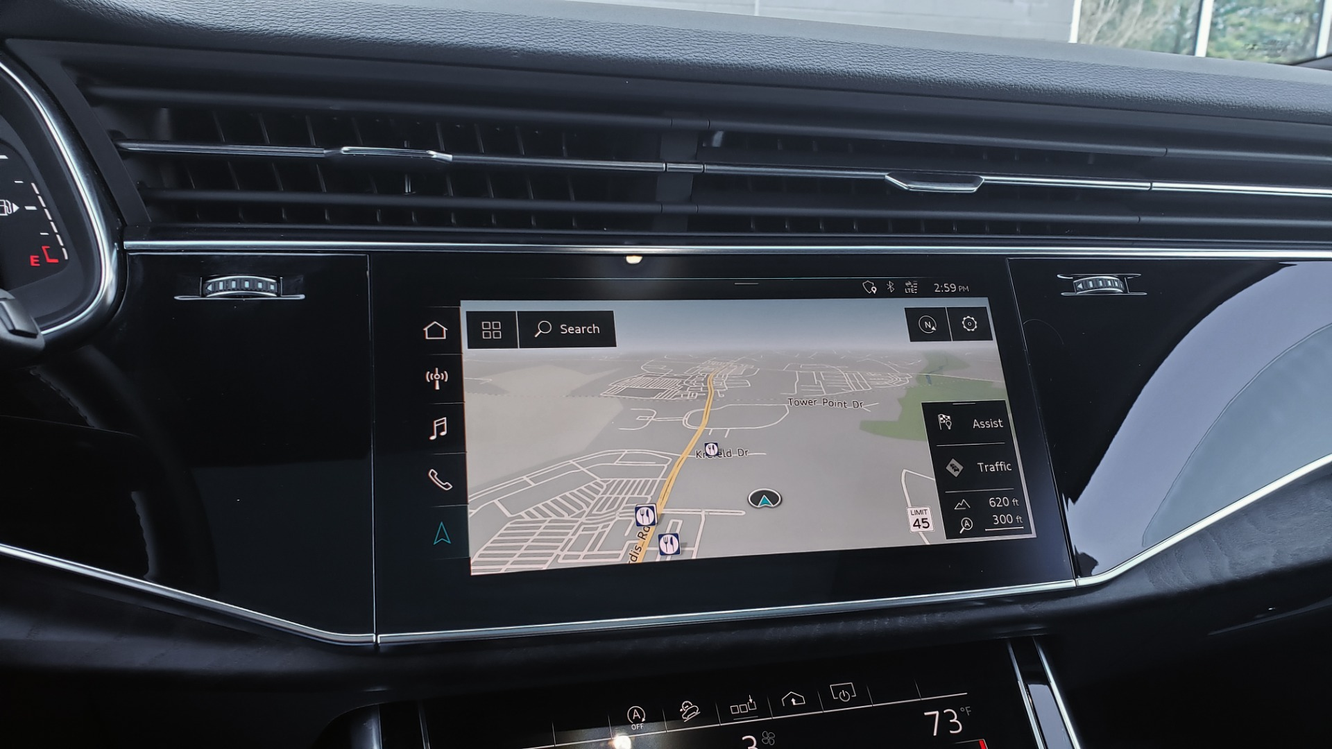 Used 2020 Audi Q7 PREMIUM PLUS / NAV / SUNROOF / 3-ROW / REARVIEW for sale $50,695 at Formula Imports in Charlotte NC 28227 48