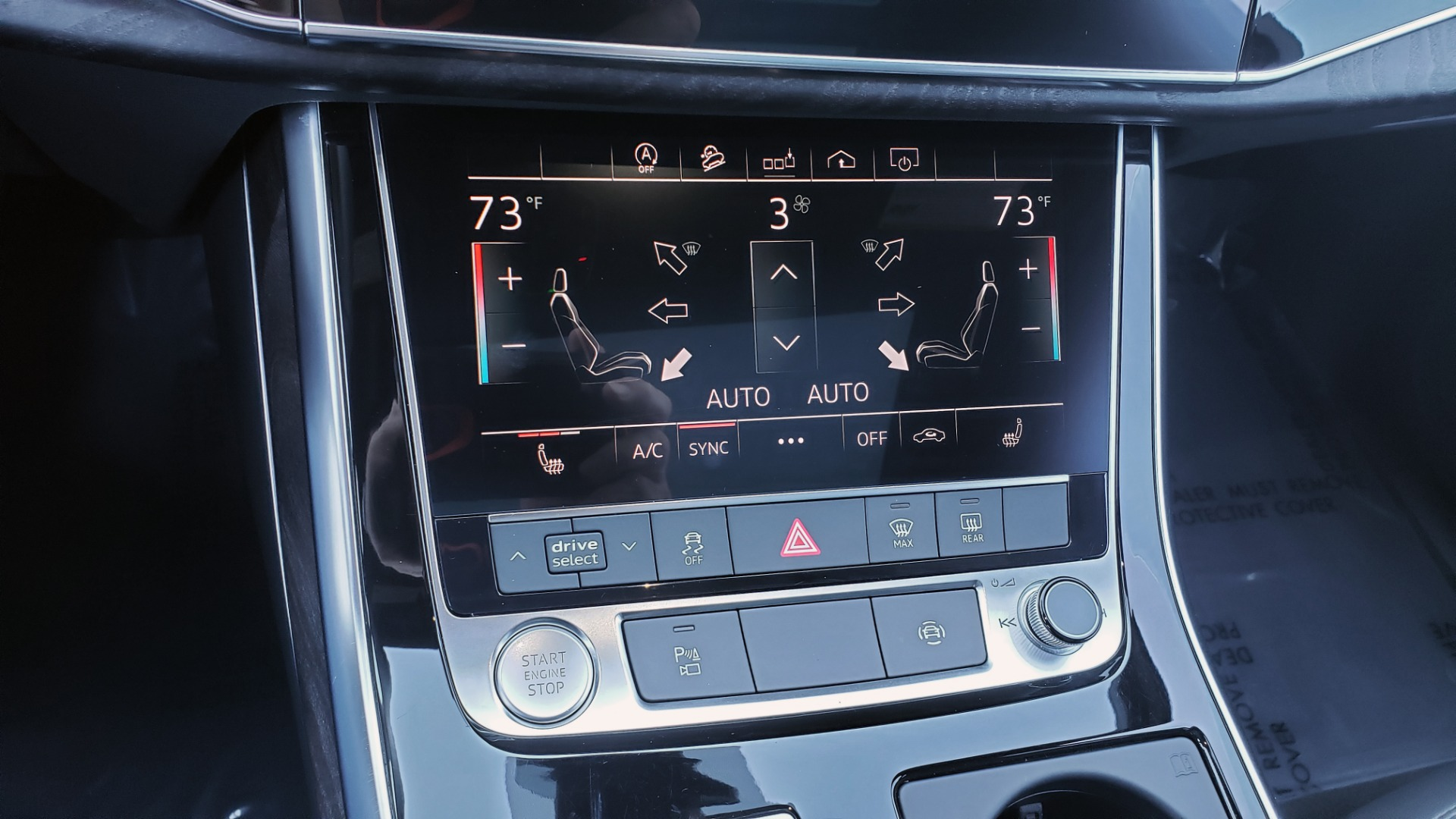 Used 2020 Audi Q7 PREMIUM PLUS / NAV / SUNROOF / 3-ROW / REARVIEW for sale Sold at Formula Imports in Charlotte NC 28227 50