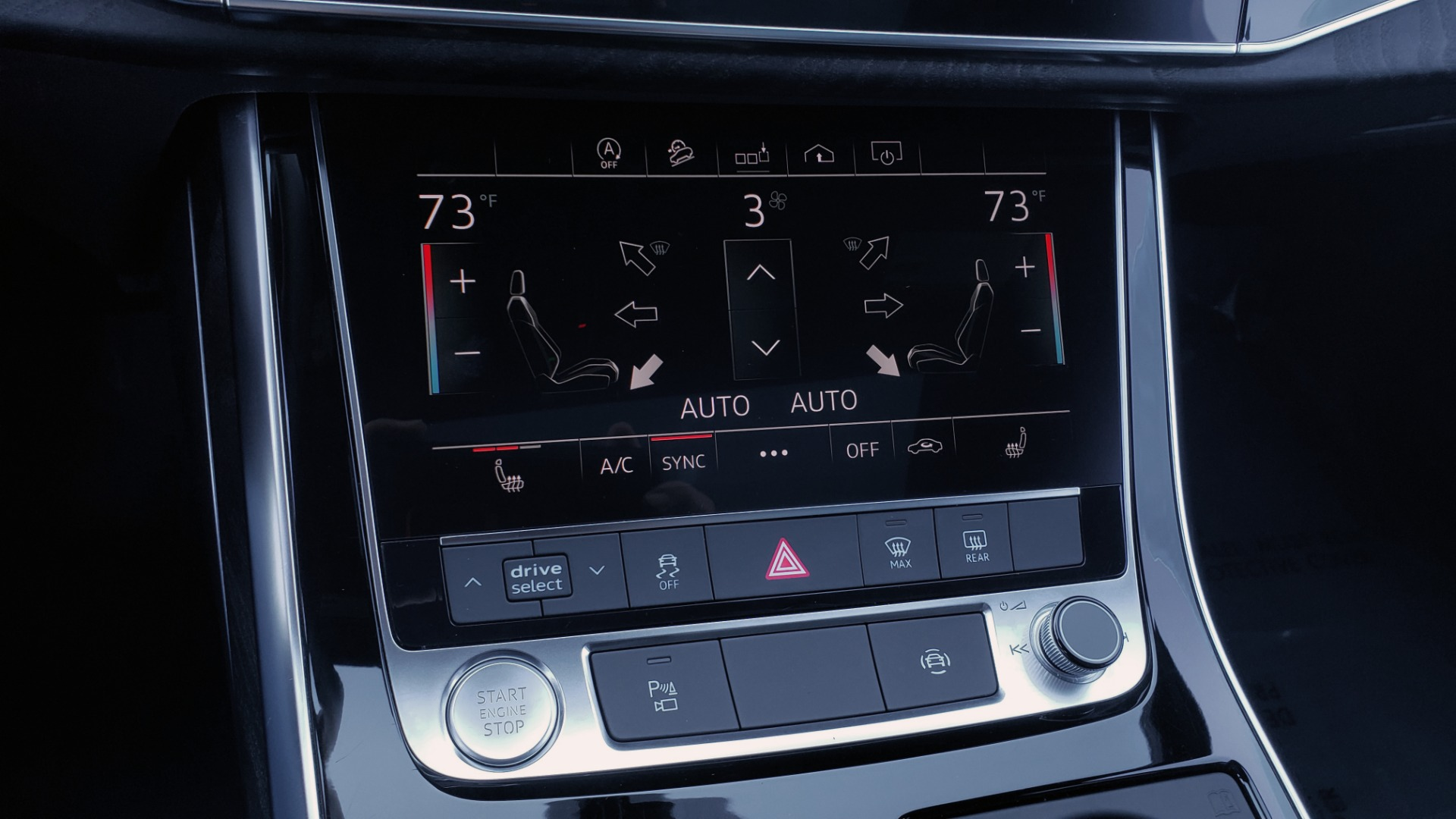 Used 2020 Audi Q7 PREMIUM PLUS / NAV / SUNROOF / 3-ROW / REARVIEW for sale Sold at Formula Imports in Charlotte NC 28227 53