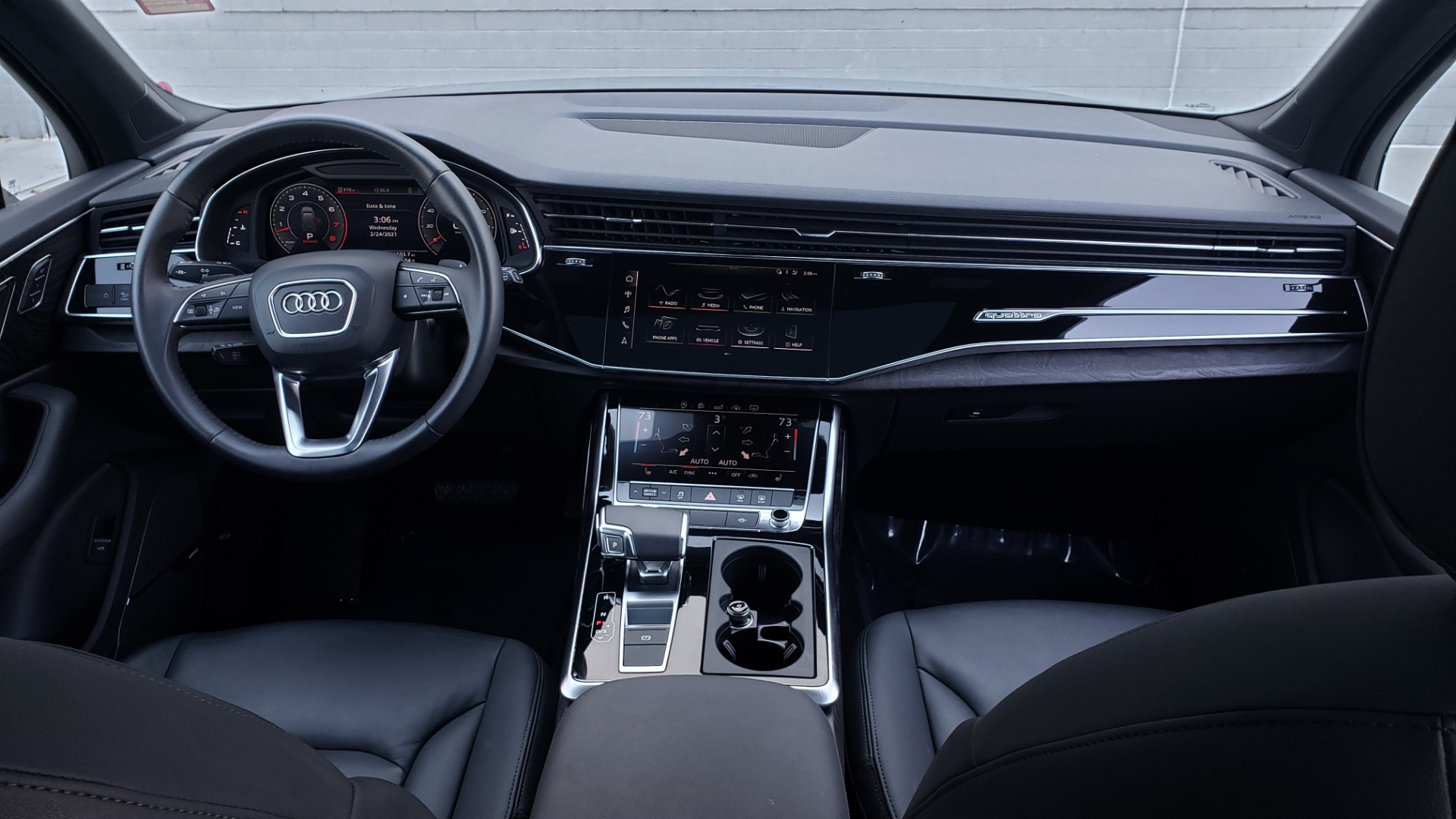 Used 2020 Audi Q7 PREMIUM PLUS / NAV / SUNROOF / 3-ROW / REARVIEW for sale Sold at Formula Imports in Charlotte NC 28227 84