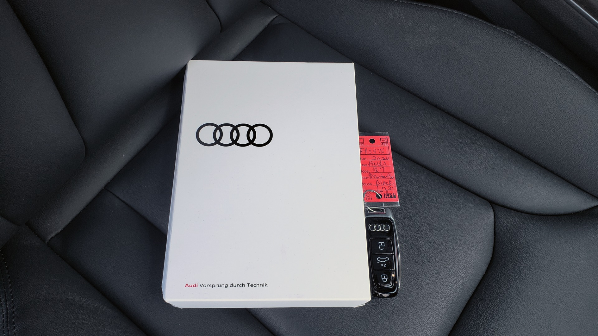Used 2020 Audi Q7 PREMIUM PLUS / NAV / SUNROOF / 3-ROW / REARVIEW for sale Sold at Formula Imports in Charlotte NC 28227 96