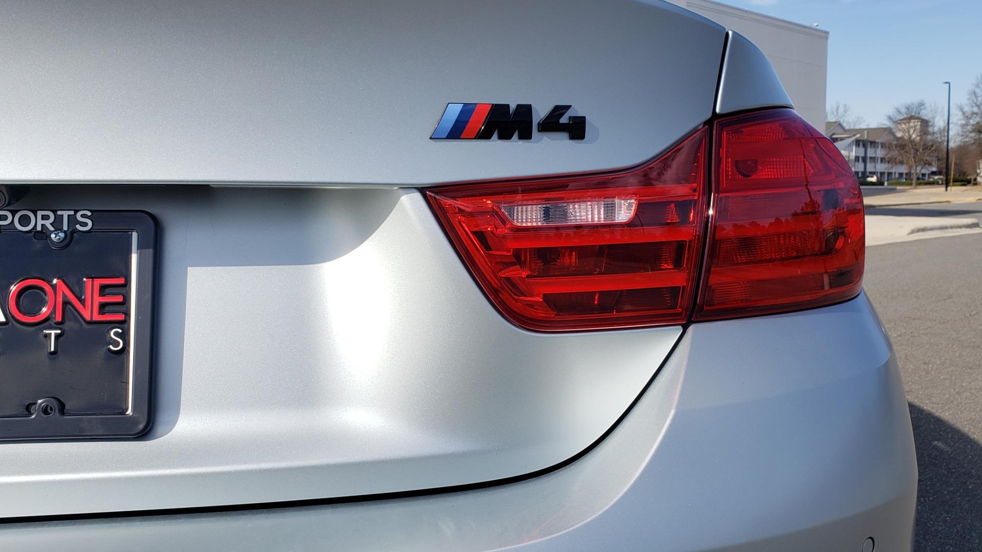 Used 2015 BMW M4 COUPE / EXEC PKG / DRVR ASST PLUS / LIGHTING / M-SUSPENSION for sale Sold at Formula Imports in Charlotte NC 28227 33