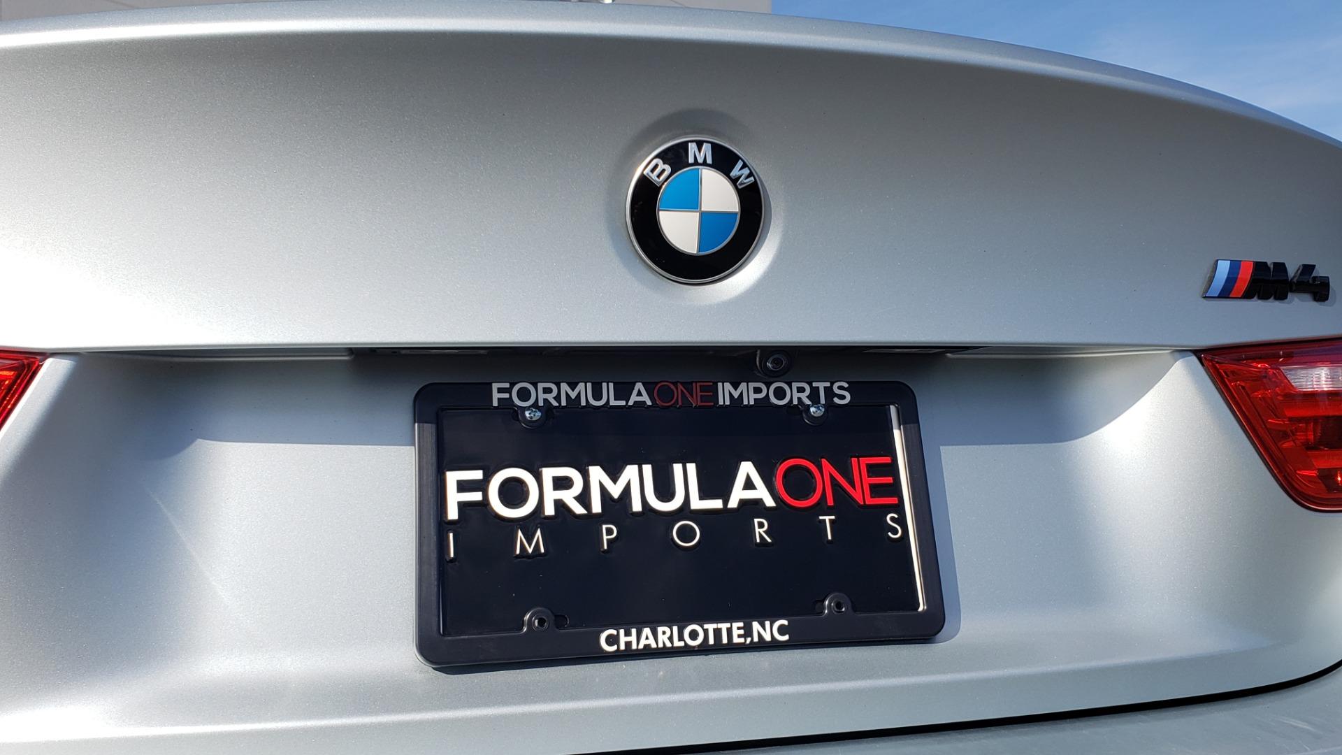 Used 2015 BMW M4 COUPE / EXEC PKG / DRVR ASST PLUS / LIGHTING / M-SUSPENSION for sale Sold at Formula Imports in Charlotte NC 28227 35