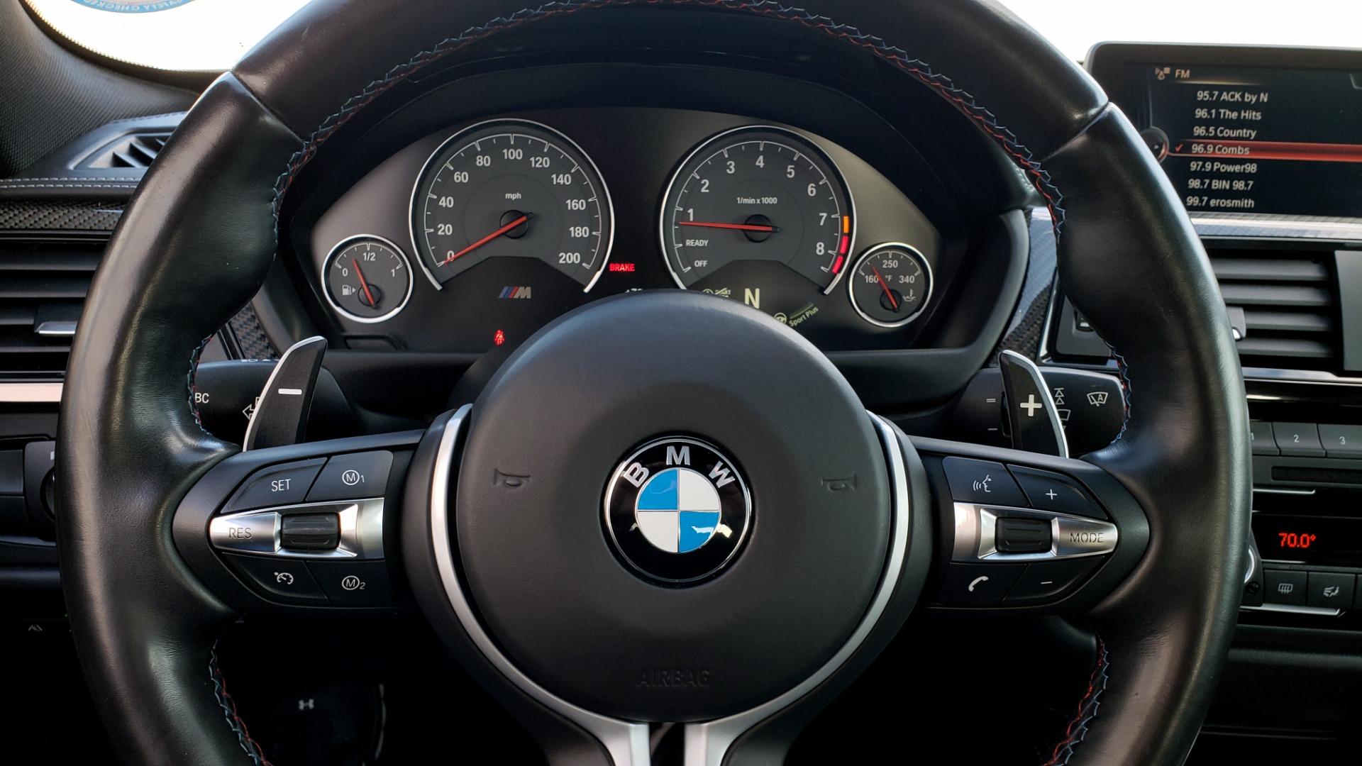 Used 2015 BMW M4 COUPE / EXEC PKG / DRVR ASST PLUS / LIGHTING / M-SUSPENSION for sale Sold at Formula Imports in Charlotte NC 28227 47