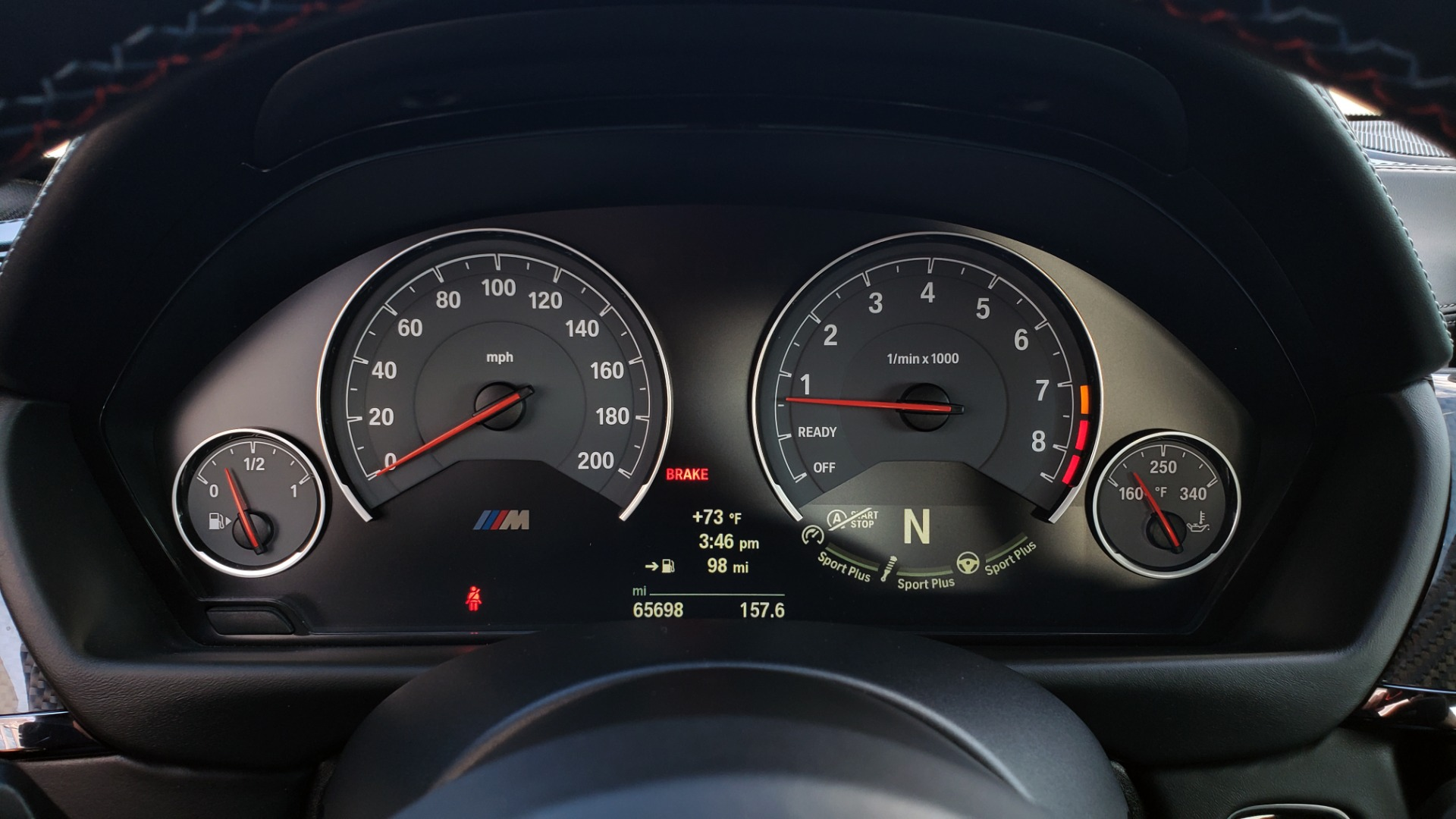 Used 2015 BMW M4 COUPE / EXEC PKG / DRVR ASST PLUS / LIGHTING / M-SUSPENSION for sale Sold at Formula Imports in Charlotte NC 28227 50
