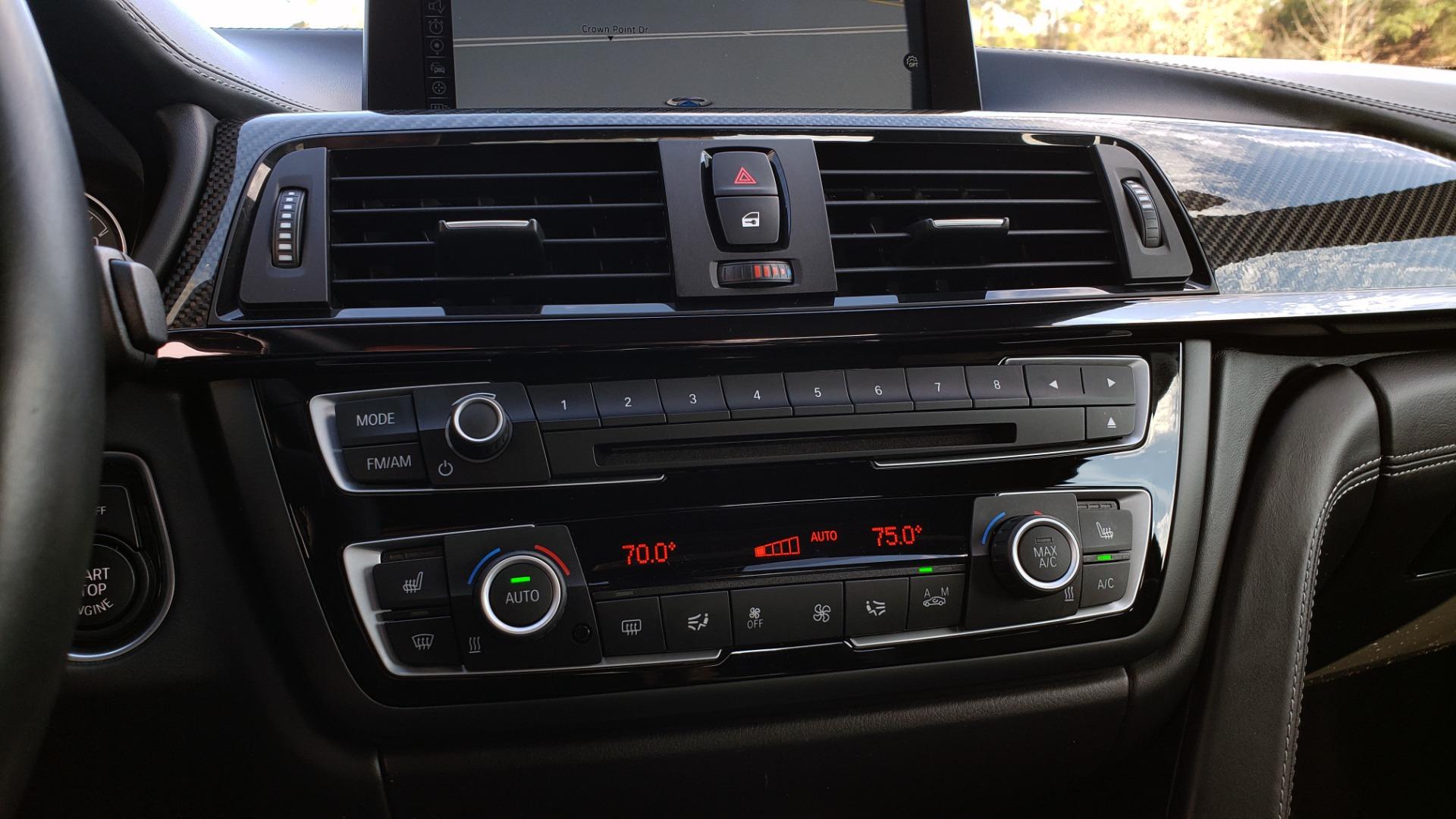 Used 2015 BMW M4 COUPE / EXEC PKG / DRVR ASST PLUS / LIGHTING / M-SUSPENSION for sale Sold at Formula Imports in Charlotte NC 28227 56