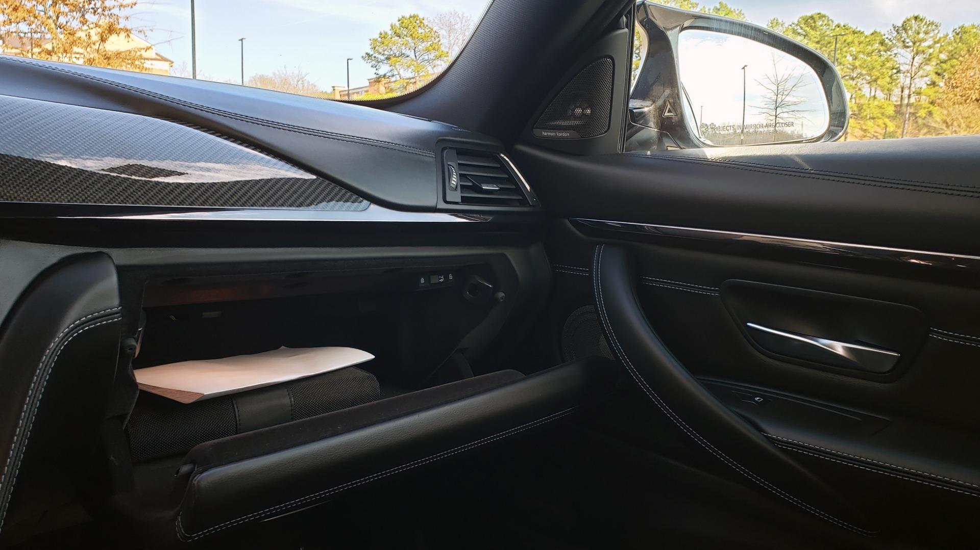 Used 2015 BMW M4 COUPE / EXEC PKG / DRVR ASST PLUS / LIGHTING / M-SUSPENSION for sale Sold at Formula Imports in Charlotte NC 28227 60