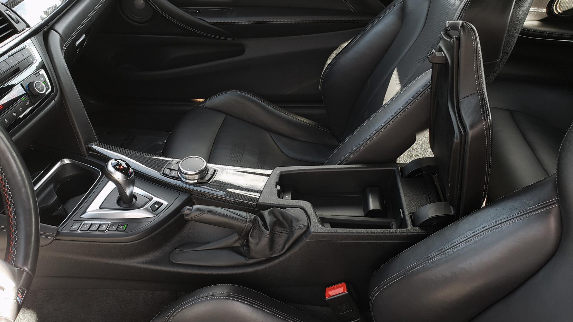 Used 2015 BMW M4 COUPE / EXEC PKG / DRVR ASST PLUS / LIGHTING / M-SUSPENSION for sale Sold at Formula Imports in Charlotte NC 28227 65