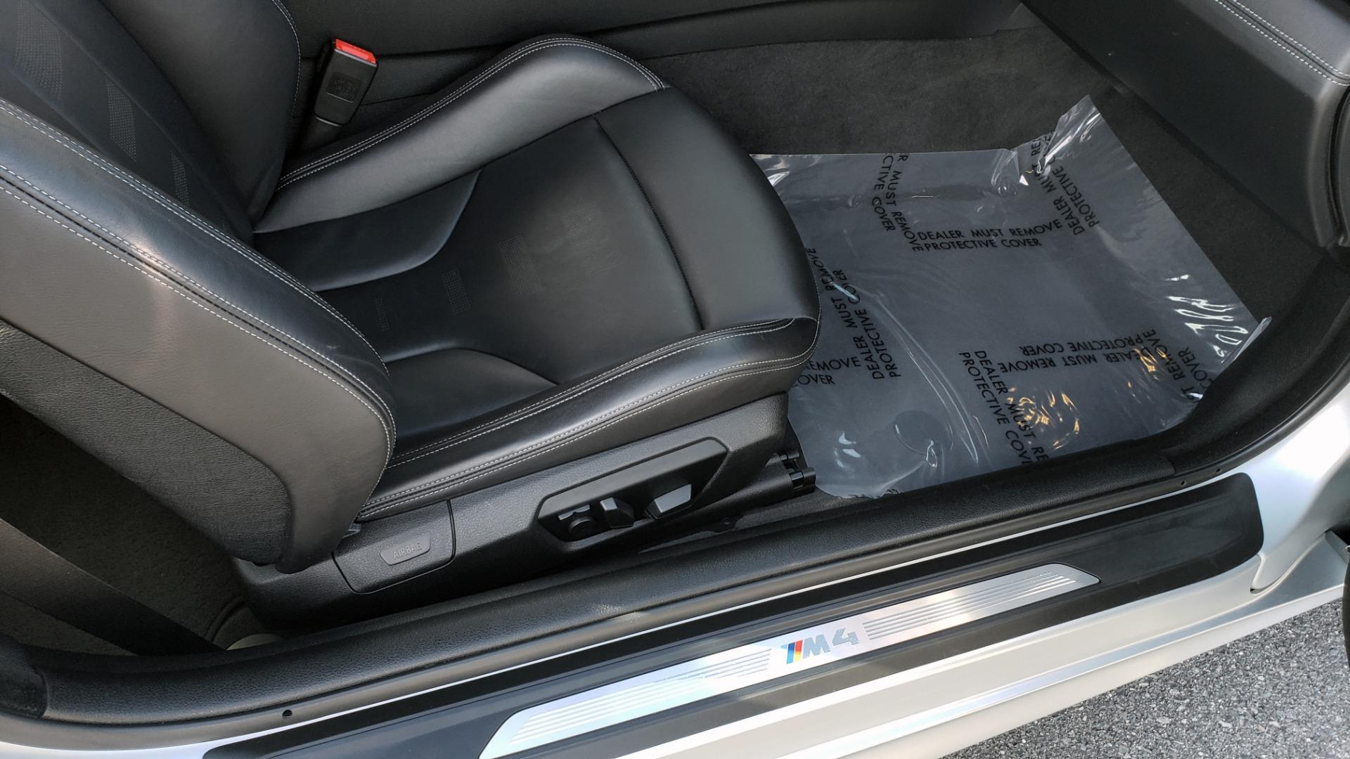 Used 2015 BMW M4 COUPE / EXEC PKG / DRVR ASST PLUS / LIGHTING / M-SUSPENSION for sale Sold at Formula Imports in Charlotte NC 28227 75